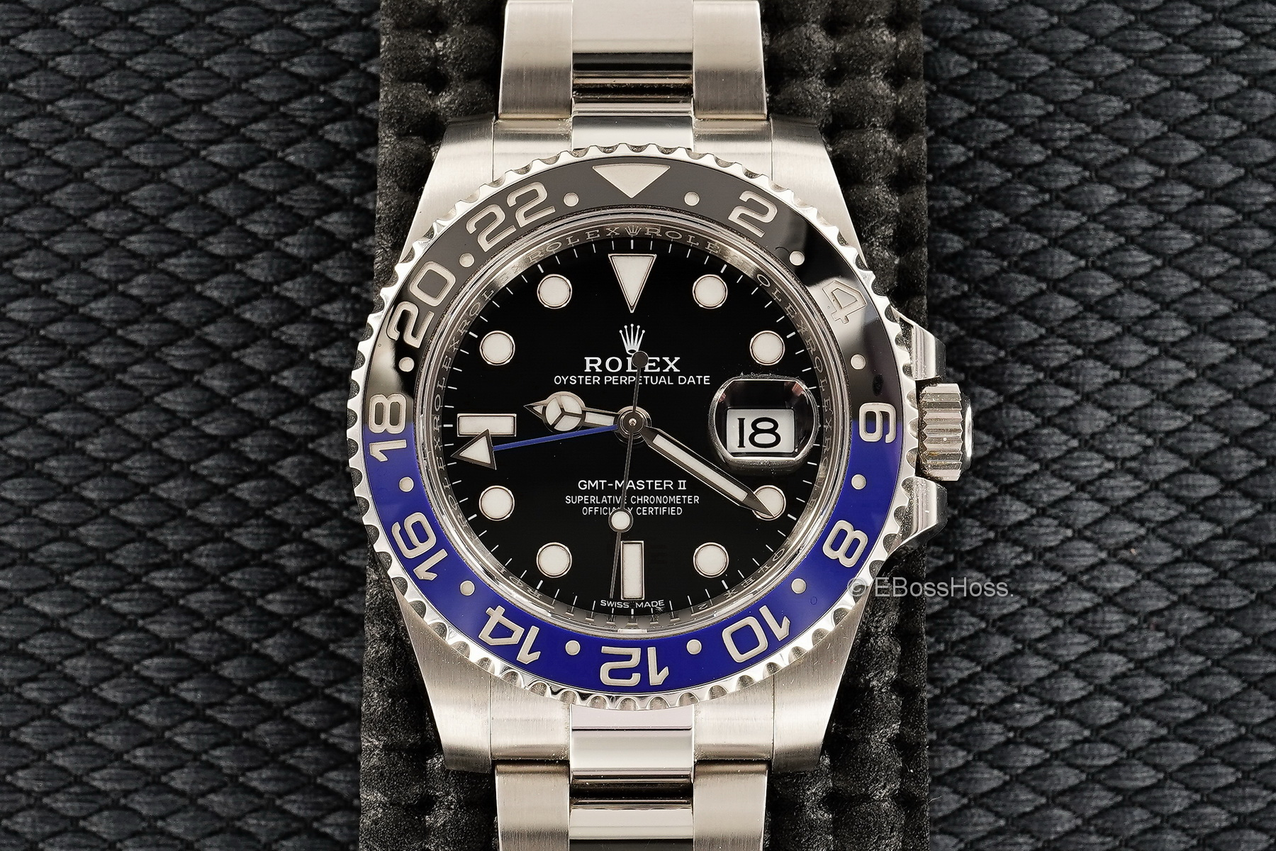 Rolex Batman - Stainless-Steel GMT Master II 116710BLNR