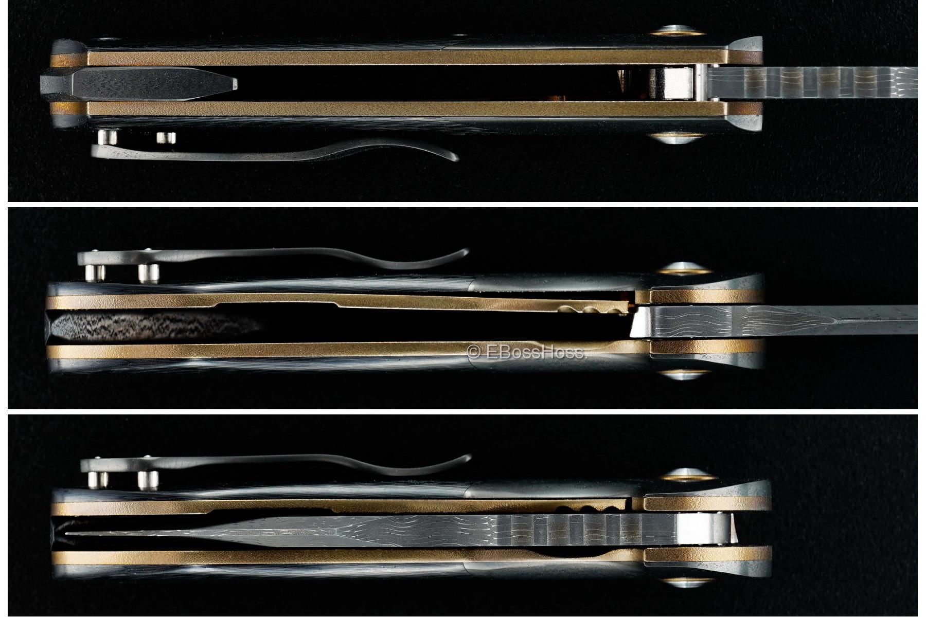 Michael Burch Custom Deluxe Dark Tangent Flipper