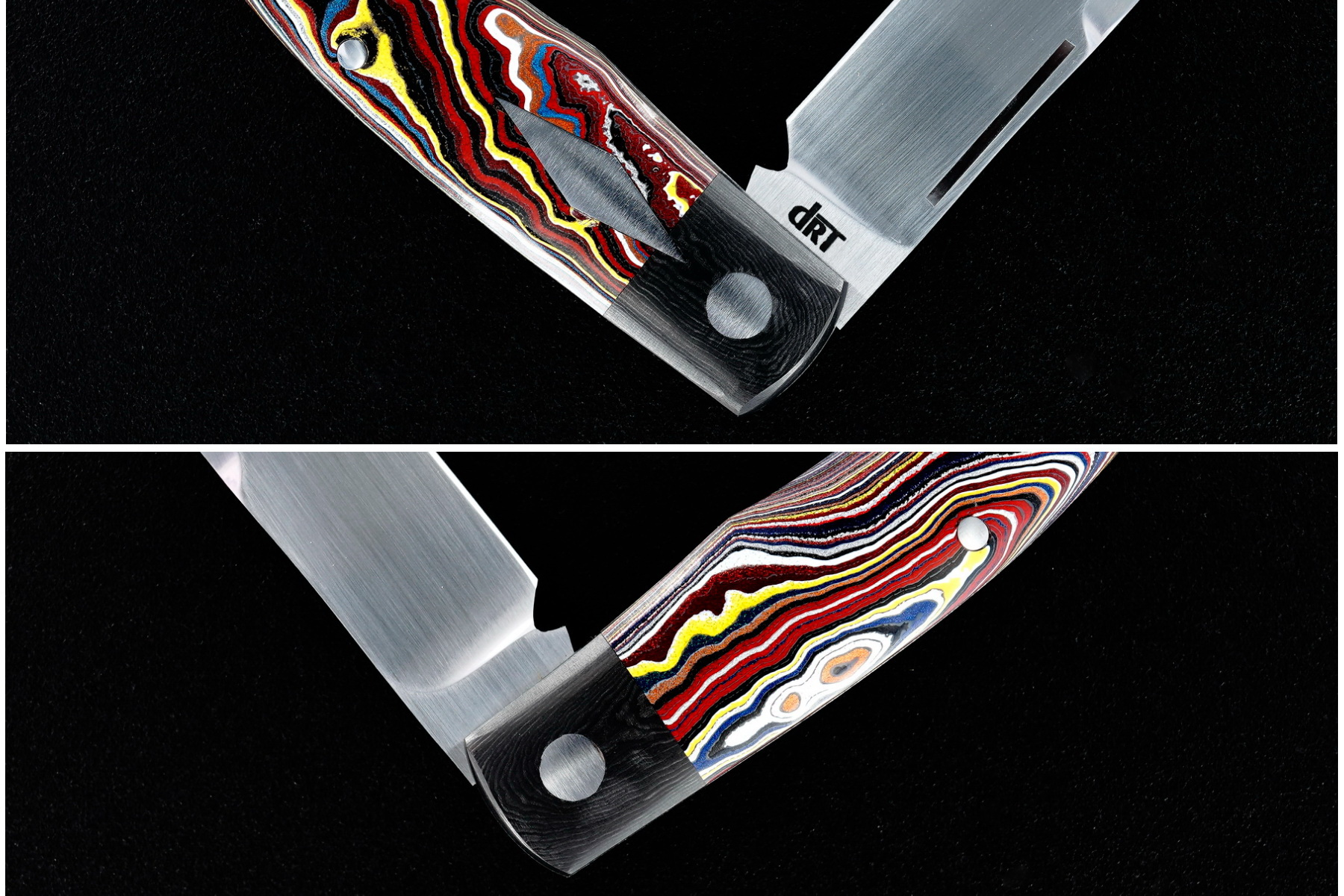 Dr T Knives / David Taber Custom Dino Slip Joint
