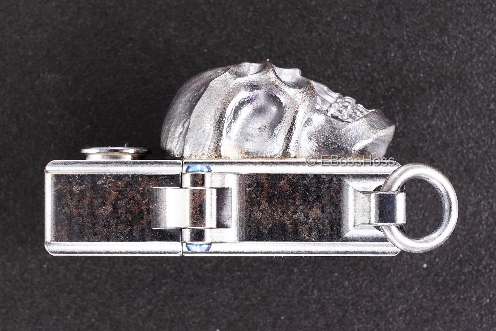 3D Sledge Bronze Lighter - with XXL Darkness & .45 Casing