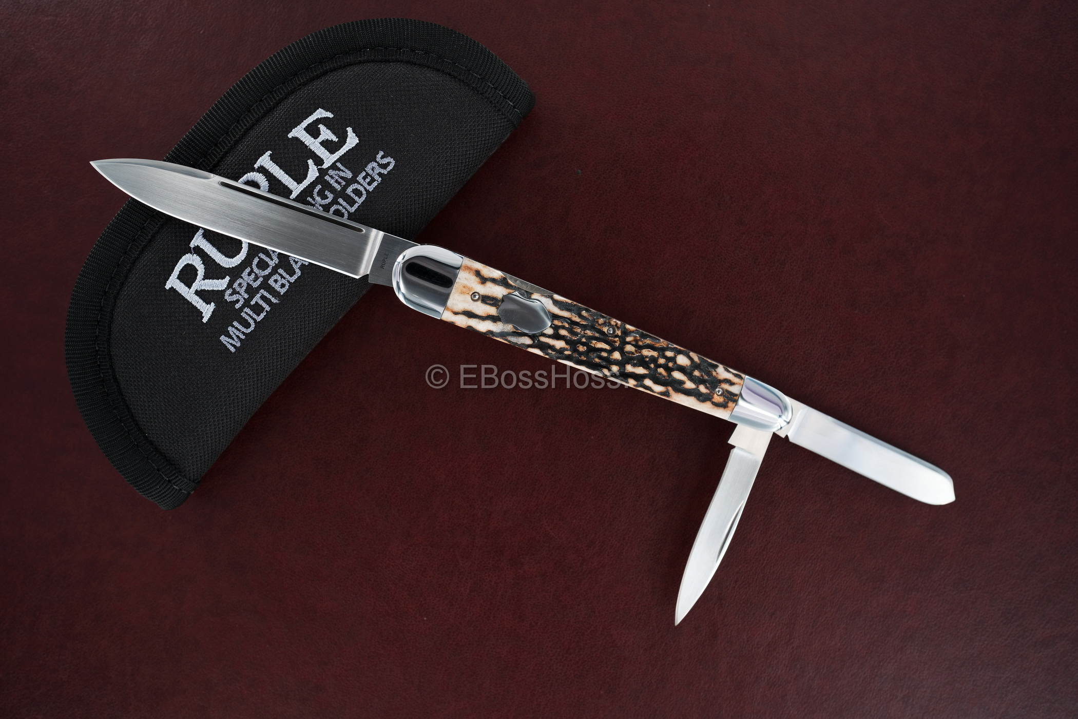 Bill Ruple Custom Deluxe Large Lockback Whittler