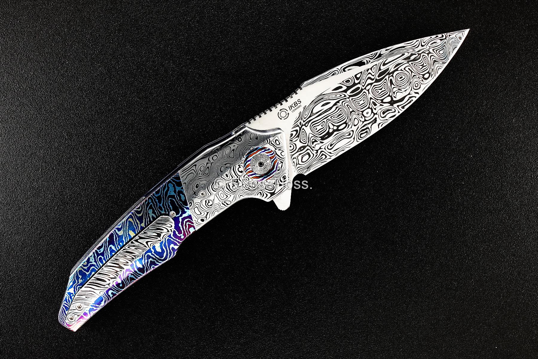 A2 Knives (Thorburn & van Heerden) Custom Very Premium A6 Flipper