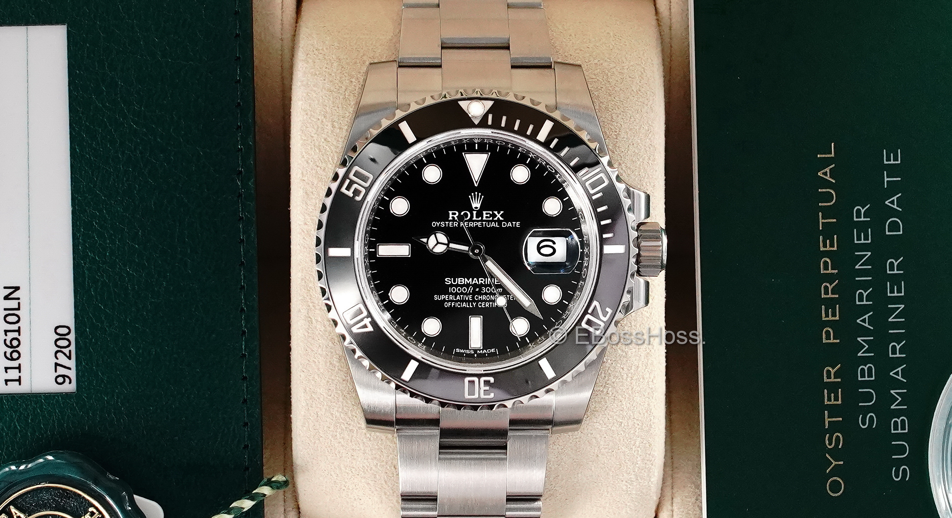Rolex Stainless-Steel Submariner Date 116610LN - 2019 Model Year