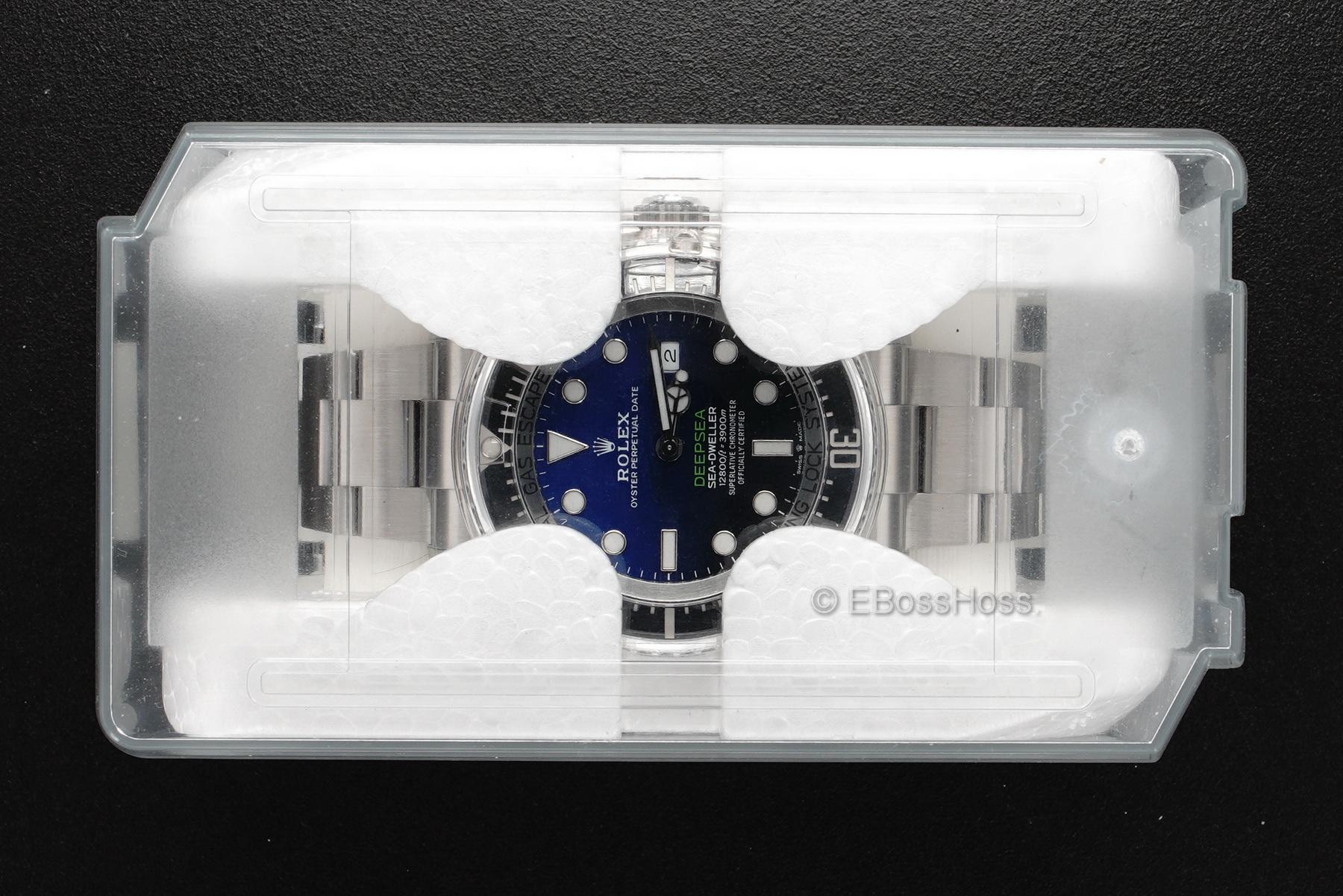 Rolex DEEPSEA D-Blue 44 mm James Cameron - 126660
