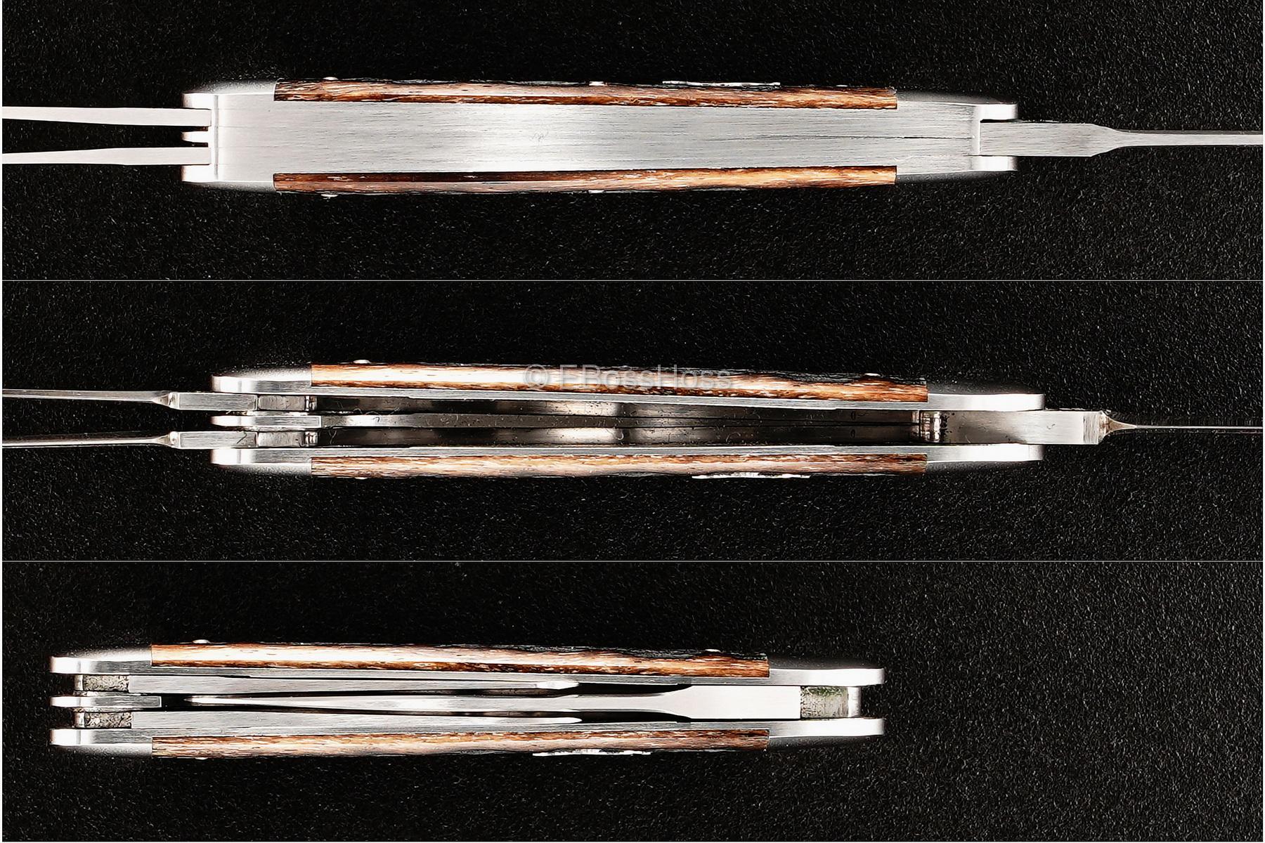Reese Bose Custom 3.125-inch Rogers Split Back Whittler