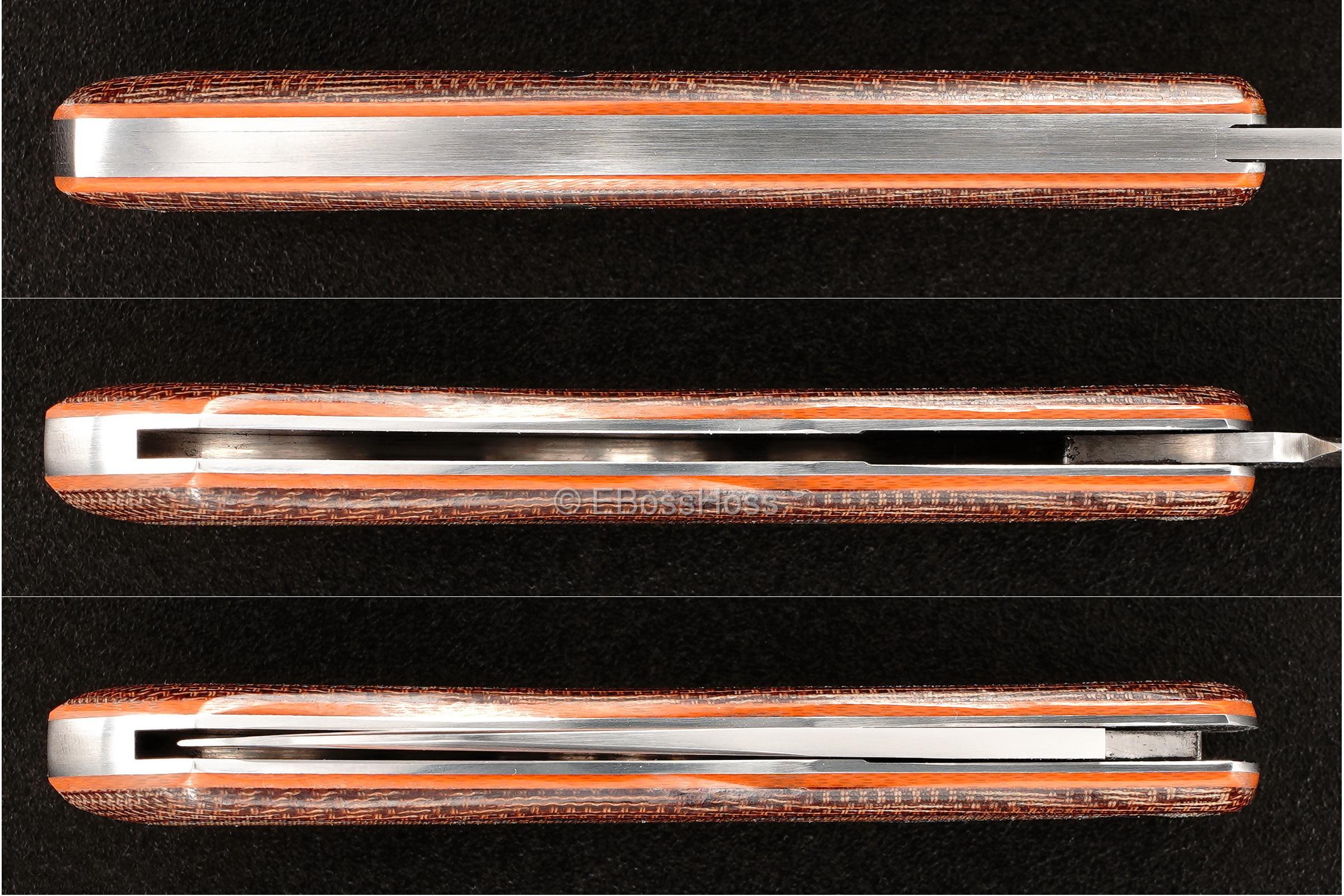 Dr T Knives / David Taber Custom Dino Slip Joint