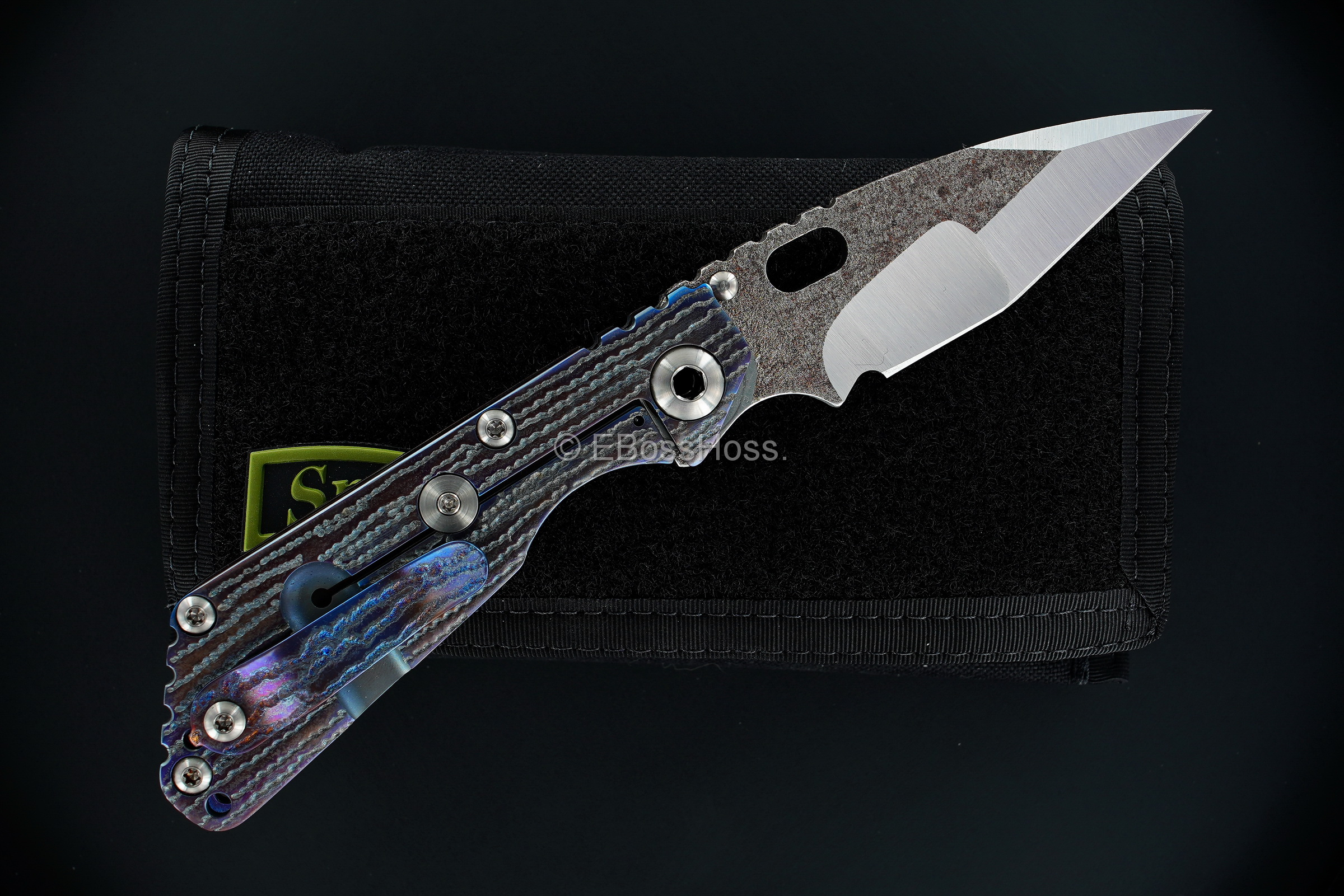 Mick Strider (MSC) Custom Nightmare Tanto SnG - Exceptional Groot-texturing by Forest Strider