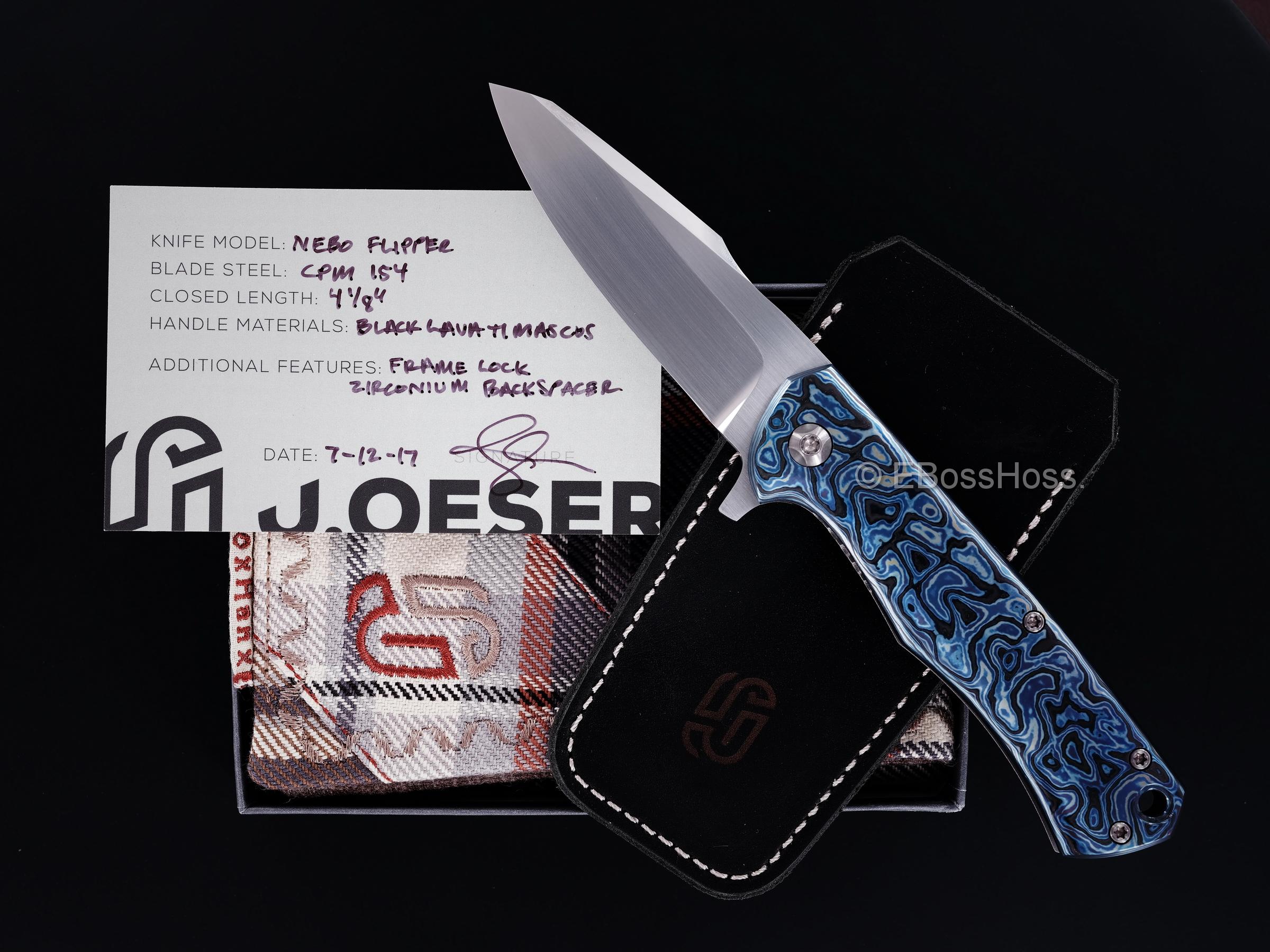 Jared Oeser Custom Deluxe Nebo Flipper
