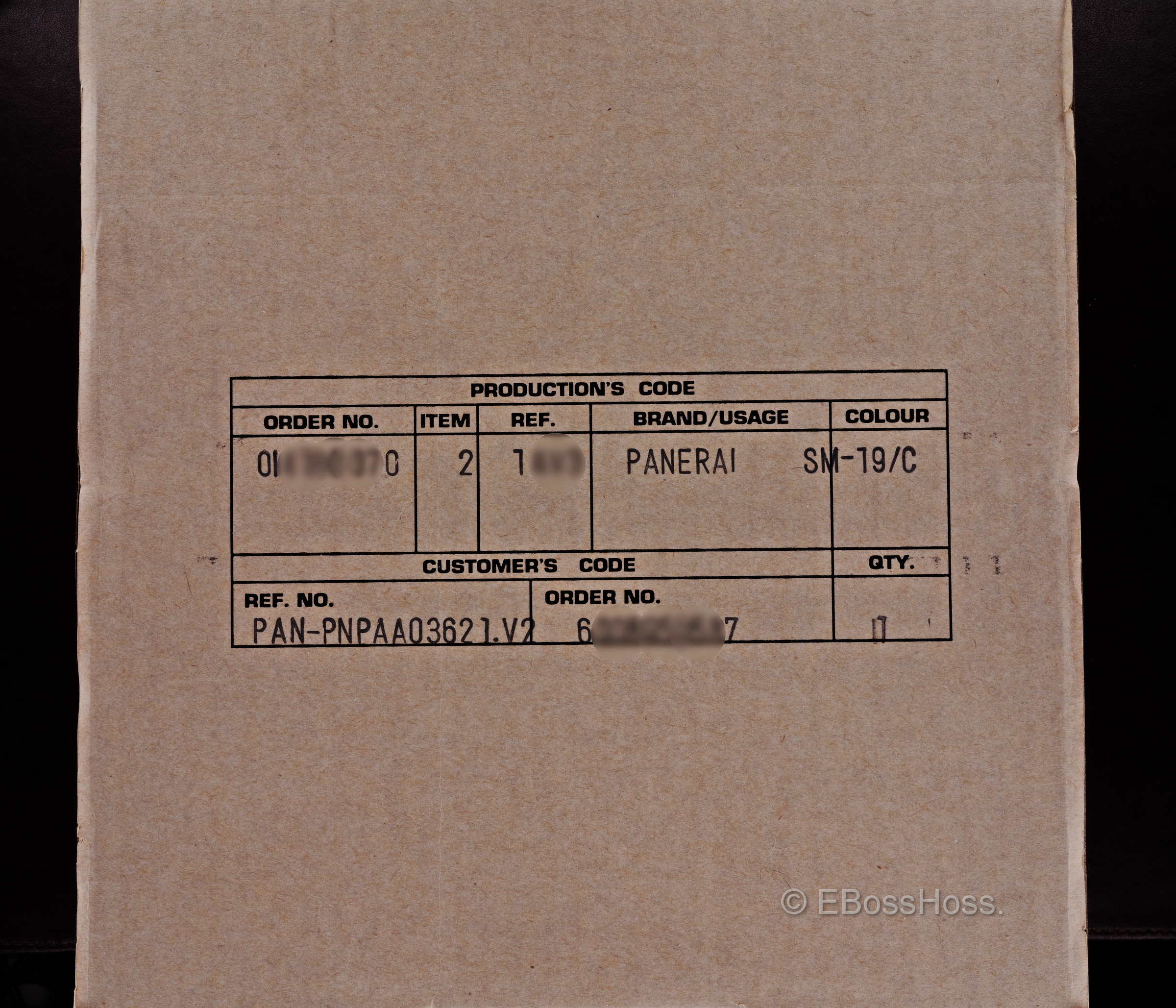 Panerai / Officine 424 Radiomir w/ 3-DAY Reserve