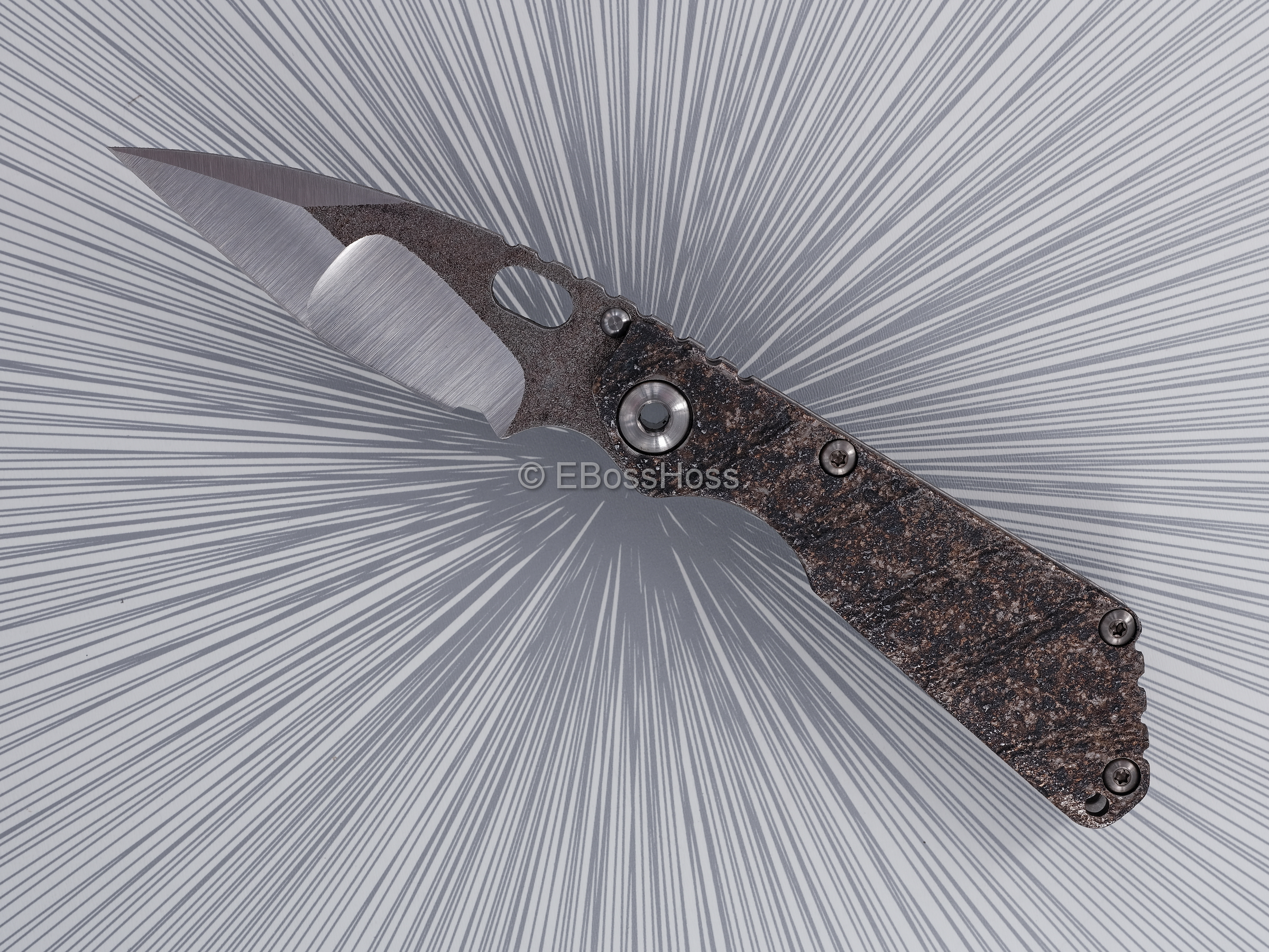 Mick Strider Custom (MSC) Nightmare Tanto SnG
