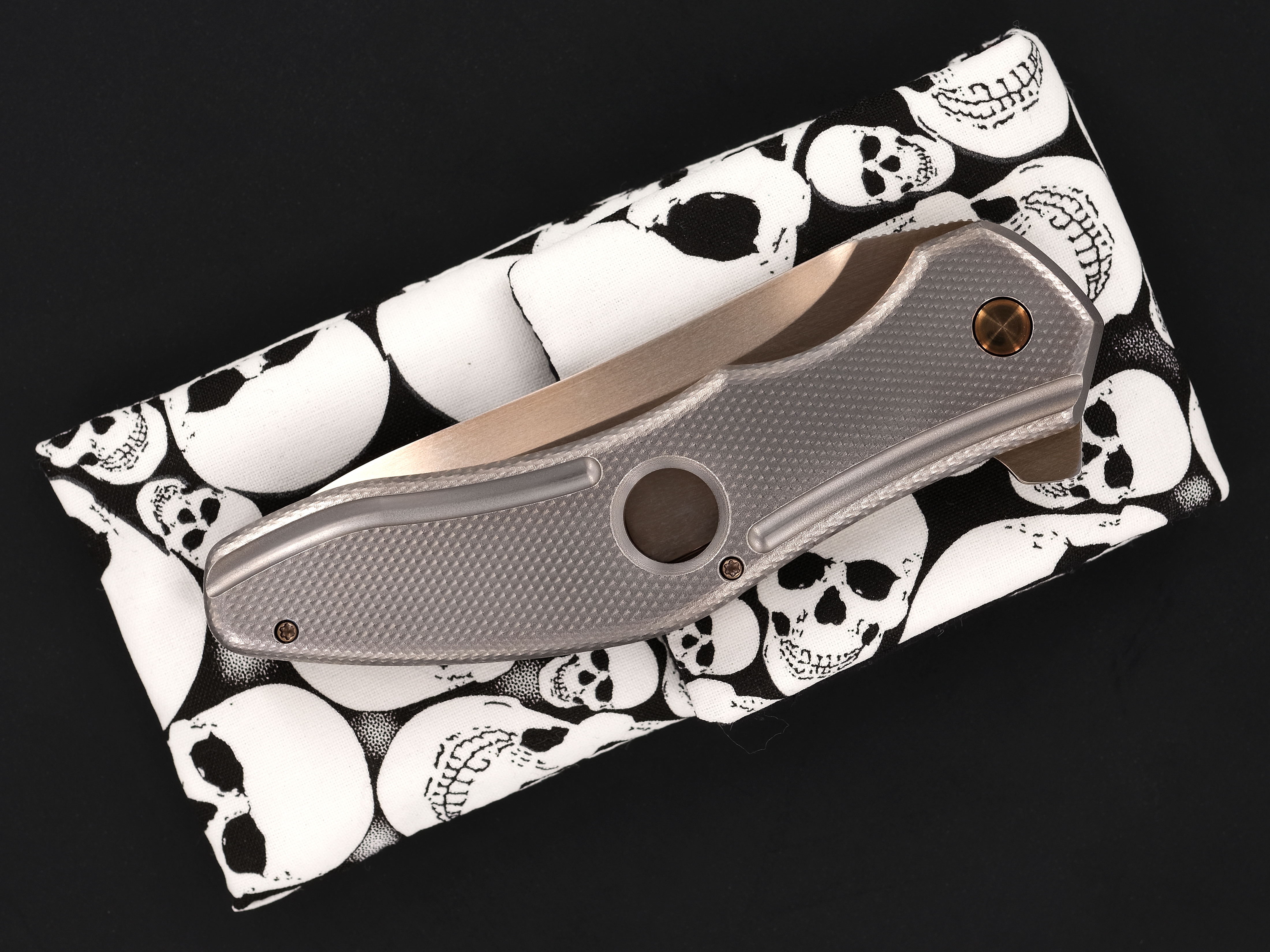 Gerry McGinnis Custom Golden-Bladed Piston Flipper