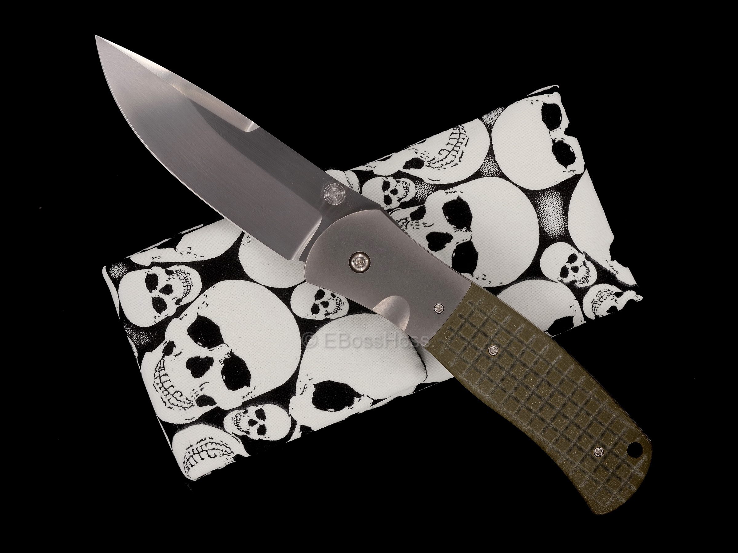 John W.  Smith Custom Monkey-FRAG SD-Tactical Folder