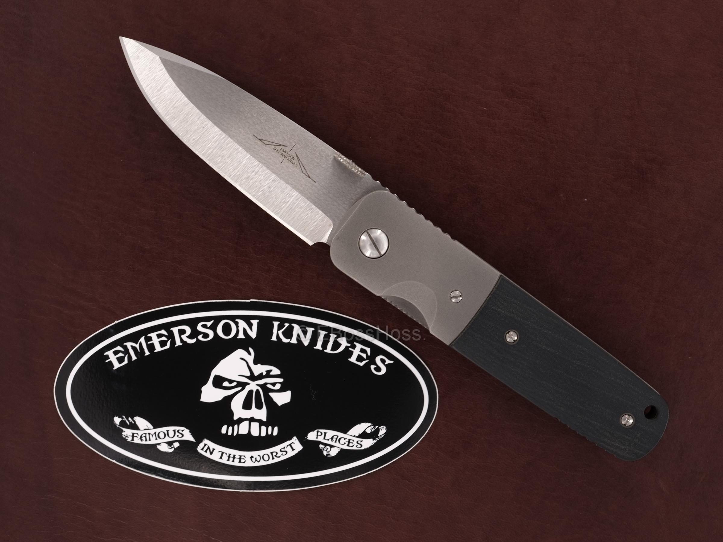 Ernie Emerson Custom Super A-100