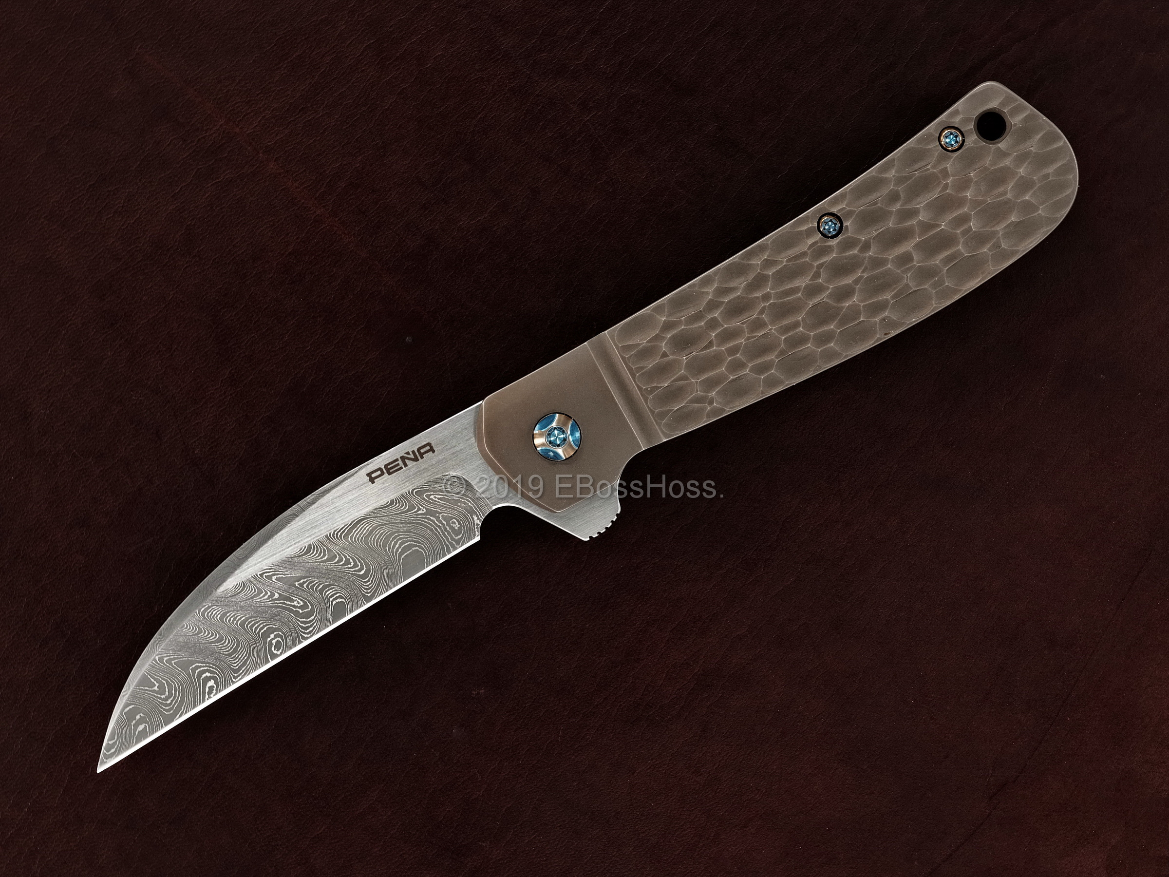 Enrique Peña Custom Jigged Diesel  Flipper
