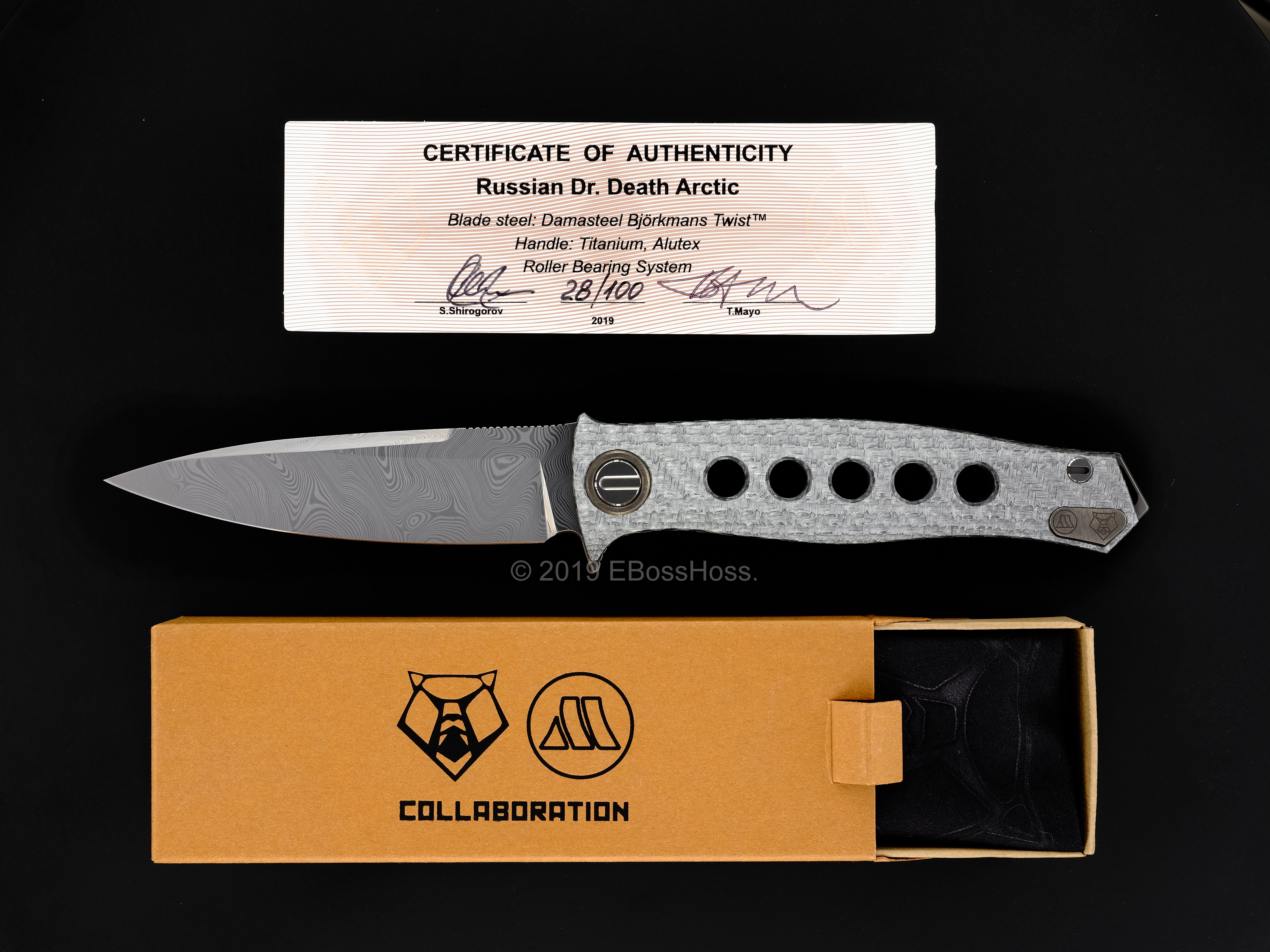 Sergey Shirogorov - Tom Mayo Collaboration Russian Dr. Death Arctic Flipper