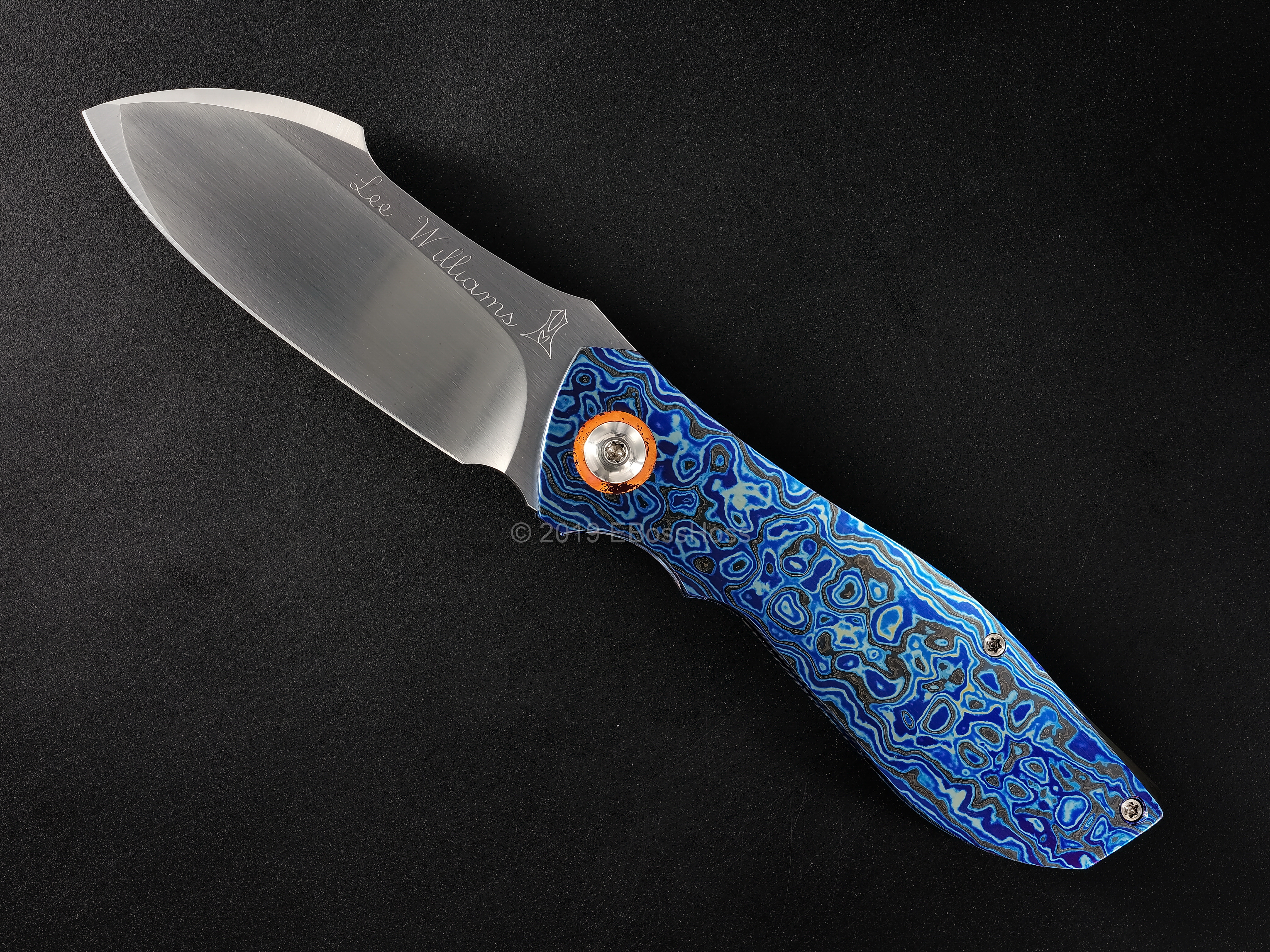 Lee Williams - Jeremy Marsh Collaboration Custom Deluxe Kickstop Vanquish Flipper