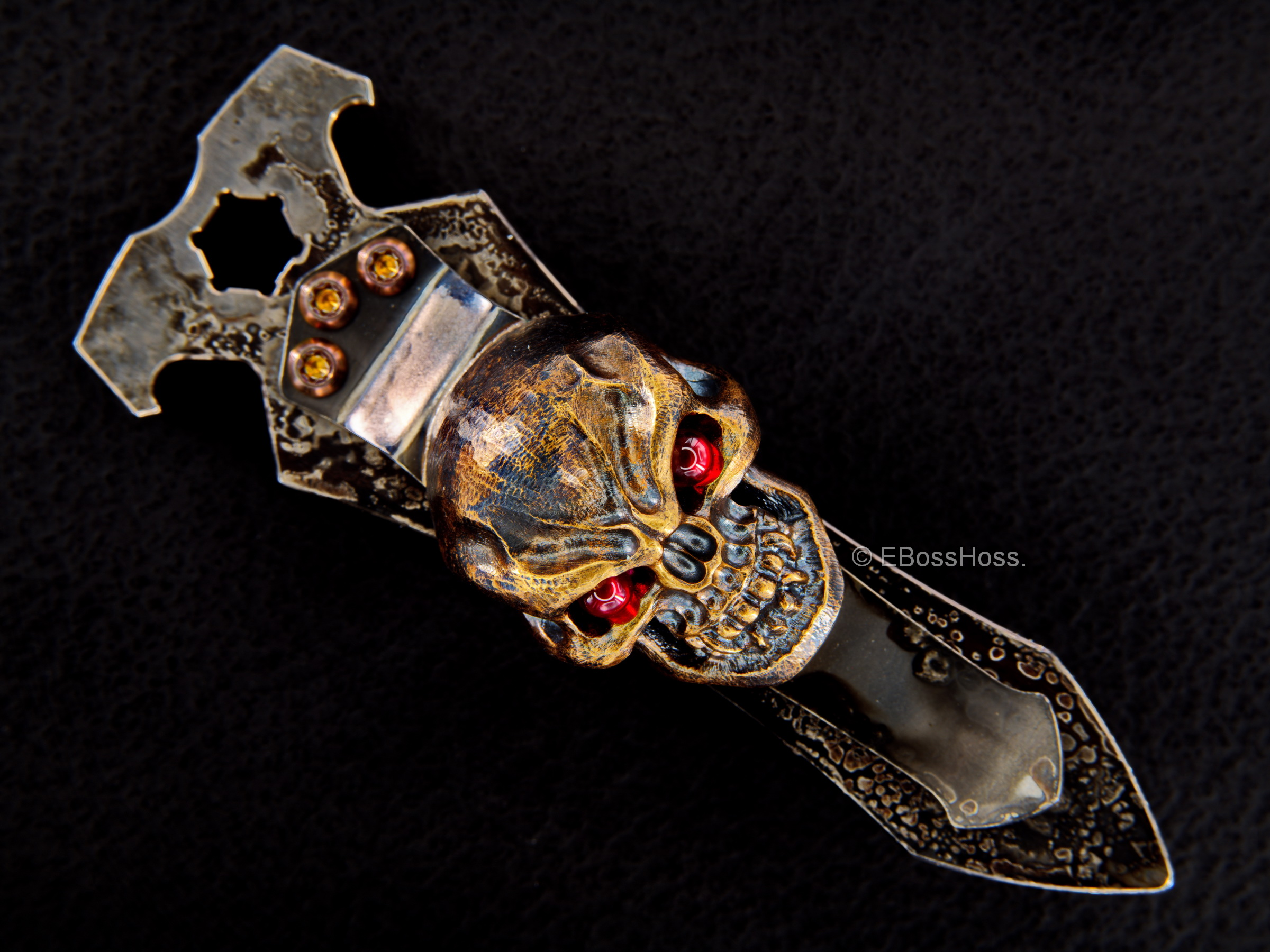 Derrick Obatake ''ONE'' Double-Vigilant Custom Tool / Key-Fob / Money-Clip by Steel Flame