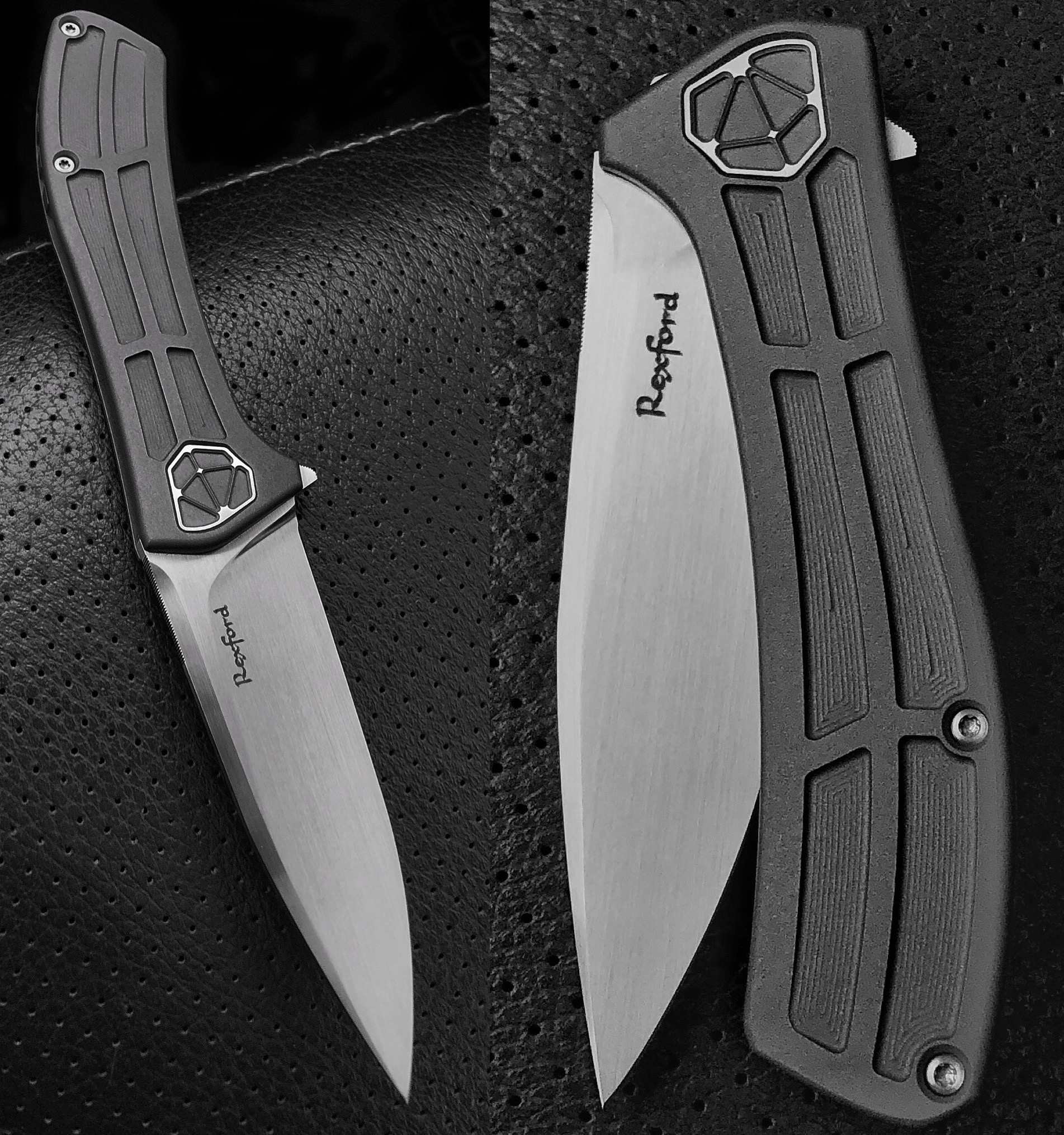 Todd Rexford Custom Singularity c Flipper with Todd's New Pivot System