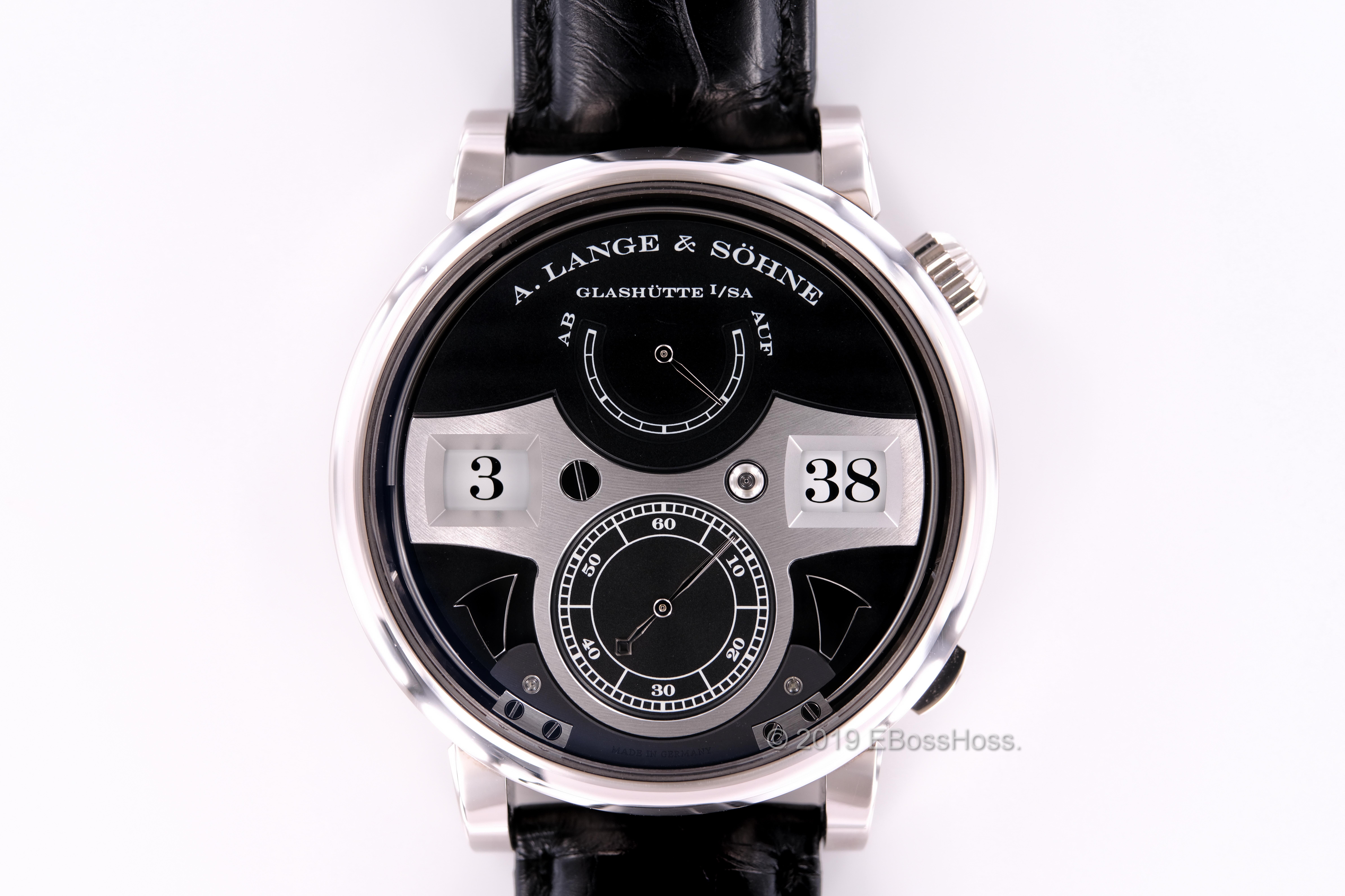 A. Lange & Söhne Zeitwerk Striking Time 145.029