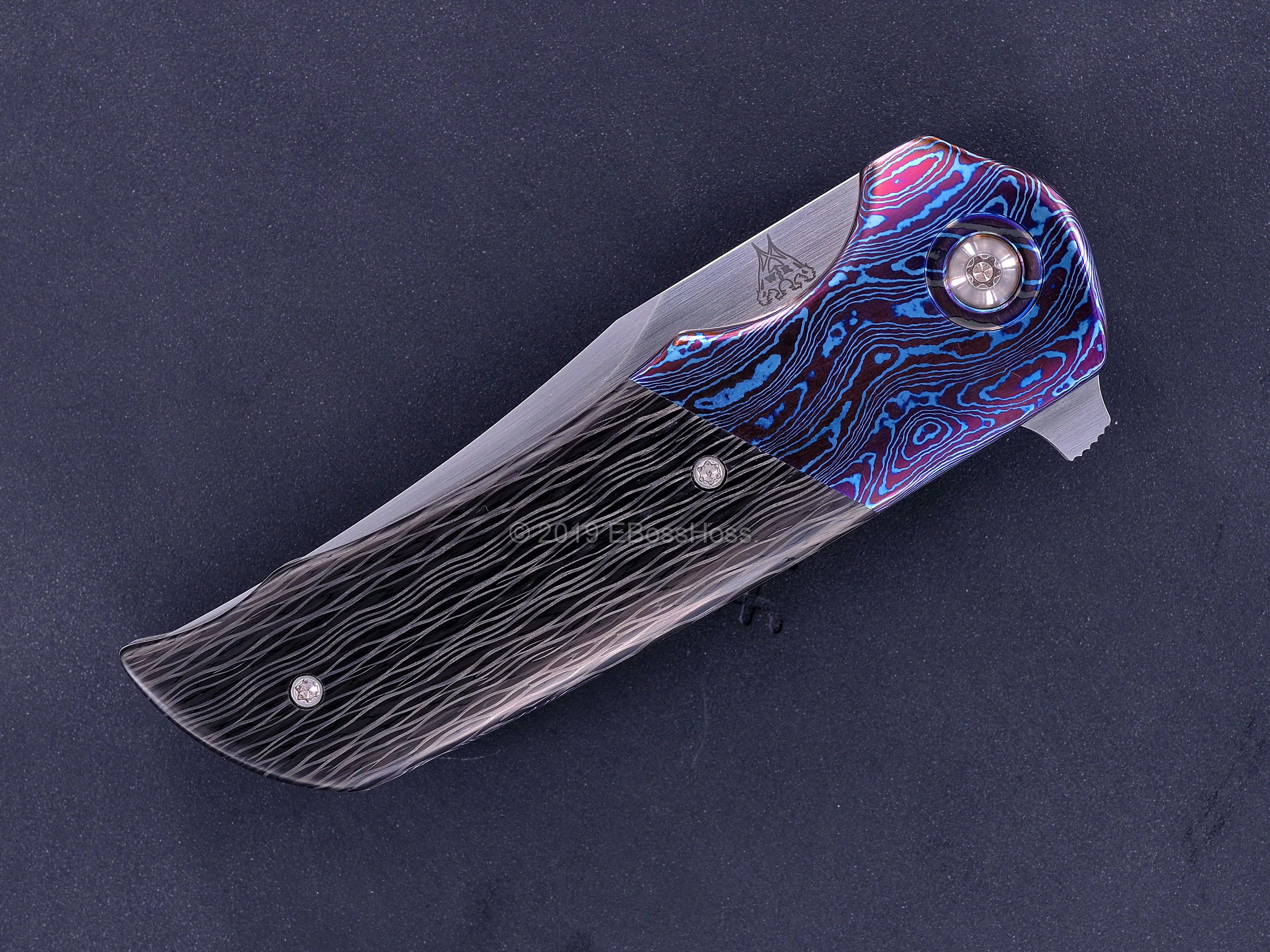 Walter Randolph (WR Bladeworks) Deluxe Custom Mini Wyvern Flipper