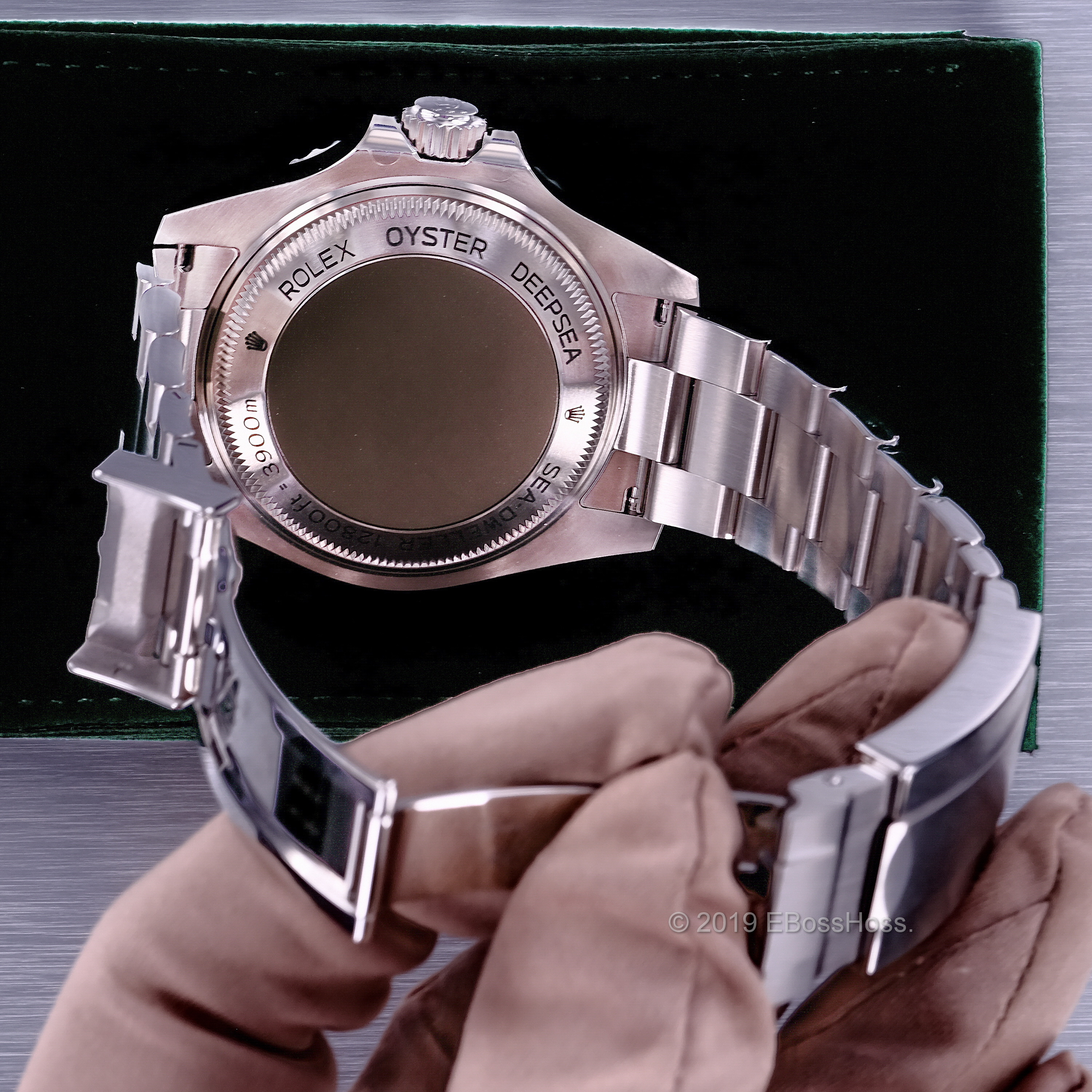 Late 2019 so Redesigned Watch Case, Movement, &  the 97% of the Rolex Warranty Remains!