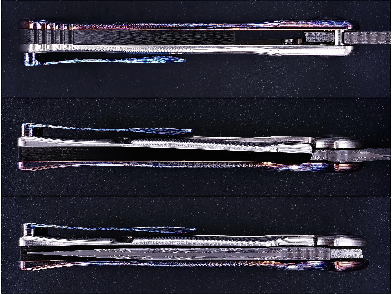 RJ Martin Custom Very Deluxe Q36-SS Framelock Flipper