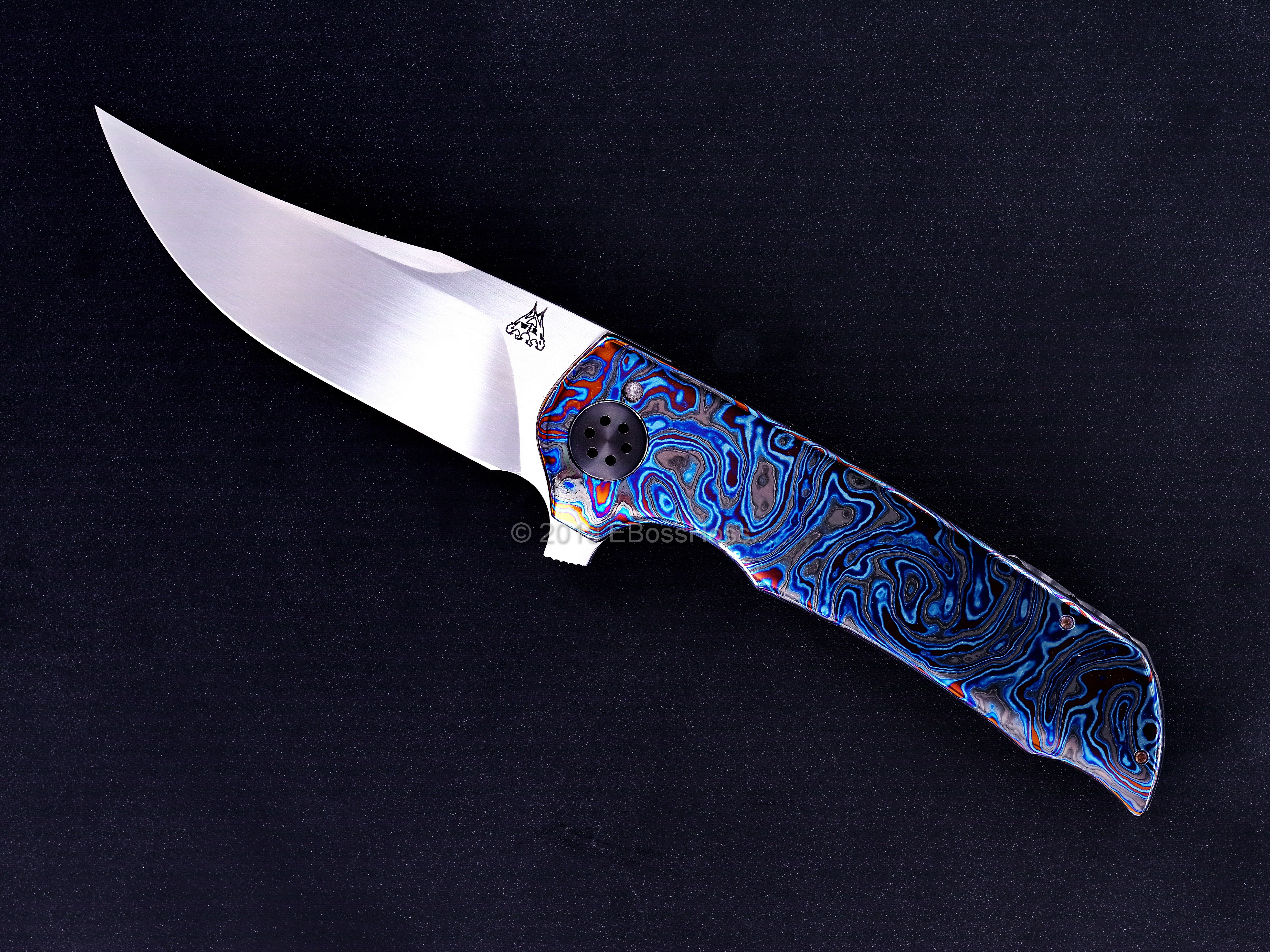 Walter Randolph (WR Bladeworks) Custom Deluxe Mini Wyvern Flipper PROTOTYPE