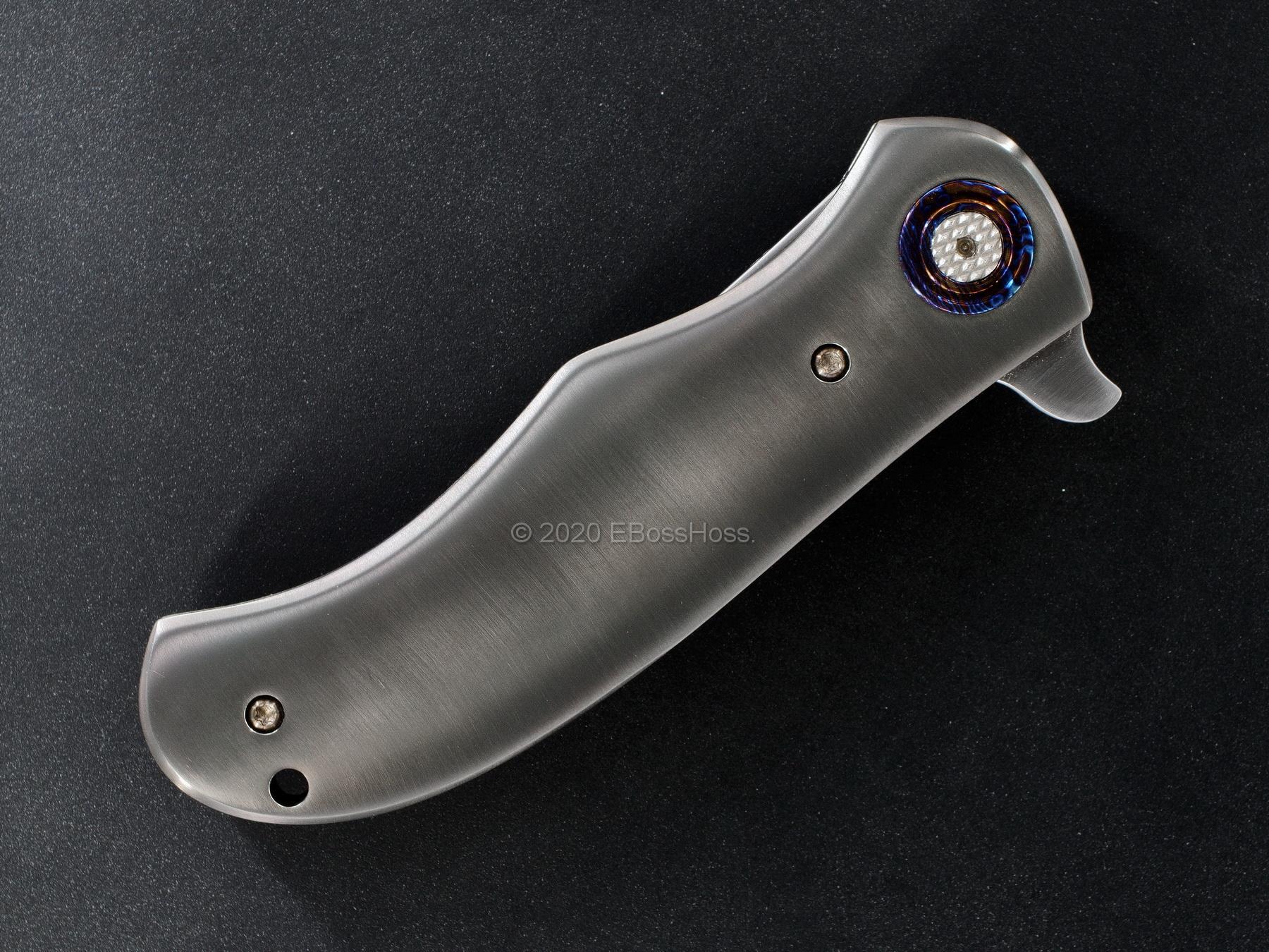 DB Fraley Custom Very Deluxe Shamal Linerlock Flipper