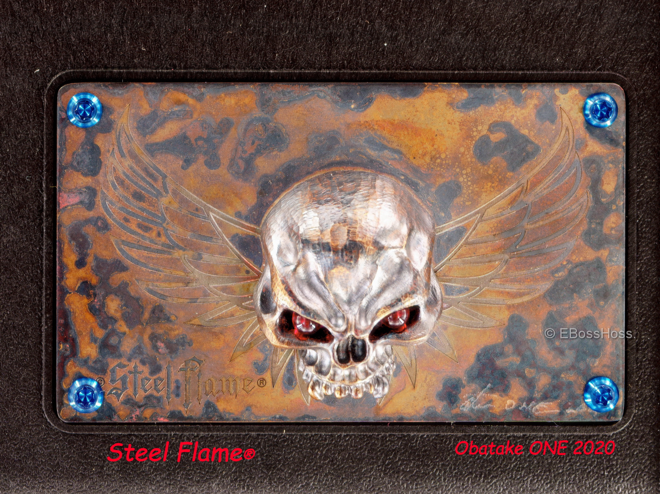 Steel Flame ''ONE'' Collection Stow by Derrick Obatake