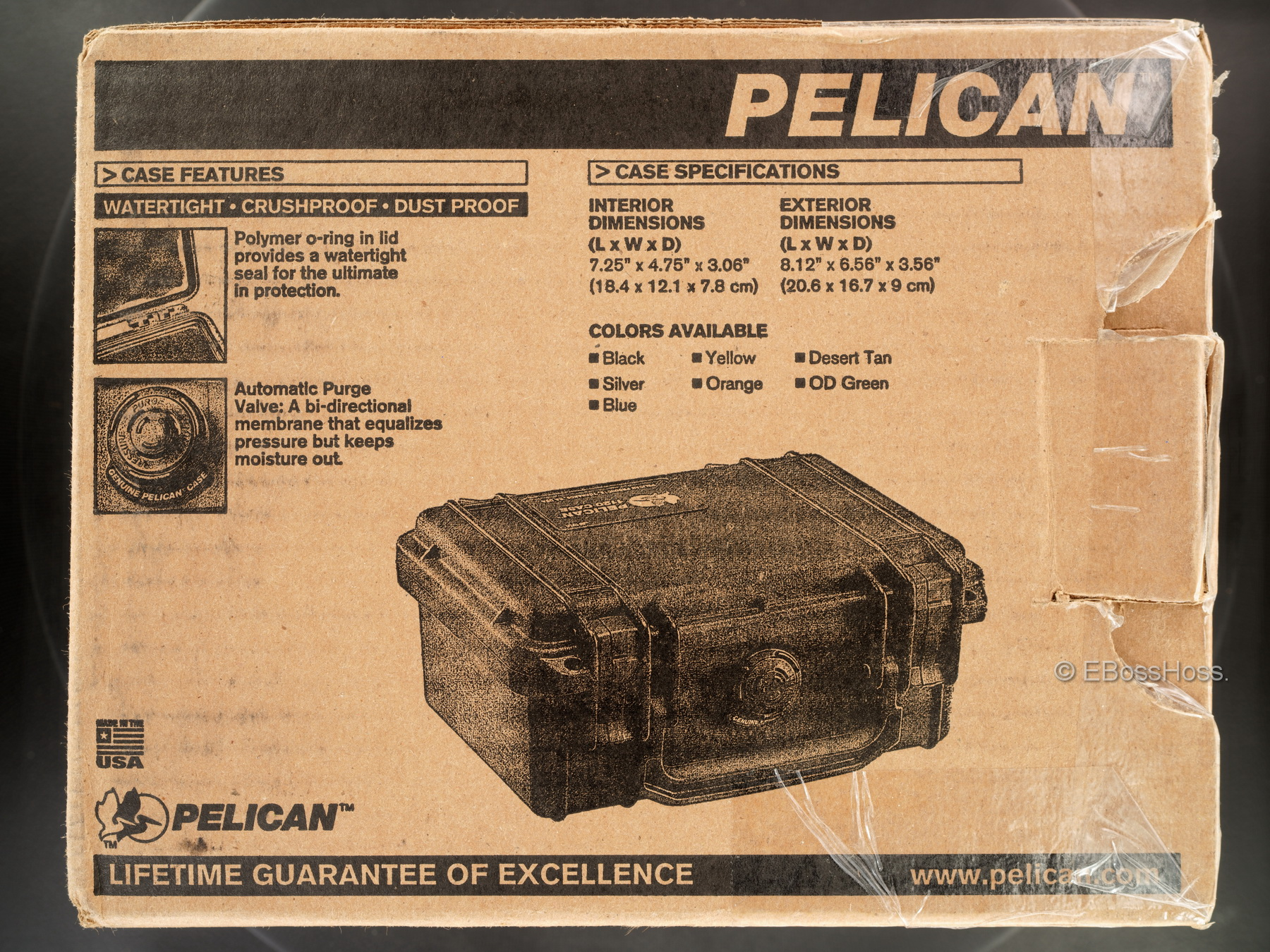 Steel Flame Collection Pelican Stow