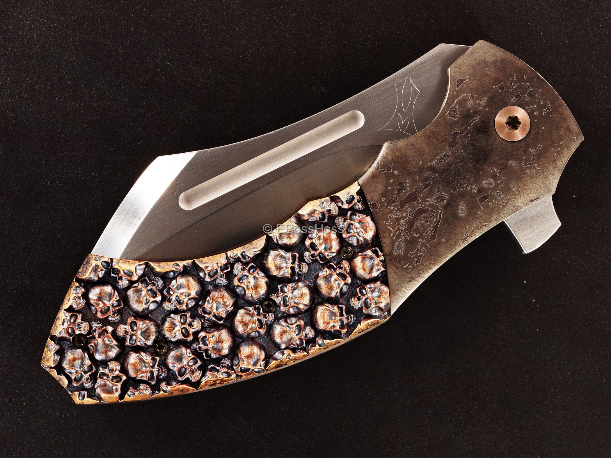 Jeremy Marsh - Derrick Obatake Custom 10-Year Knife