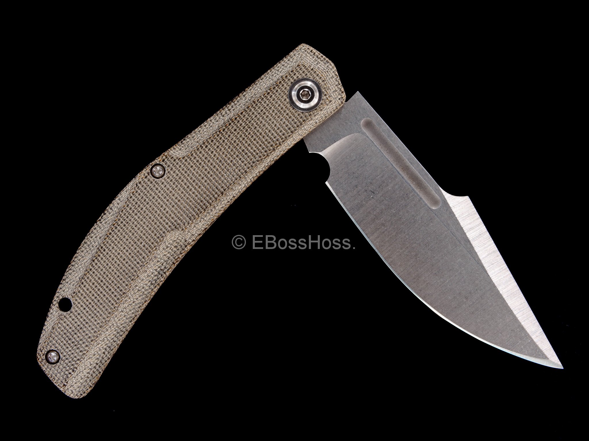 JB Stout Custom Poonbuster Slip Joint Folder