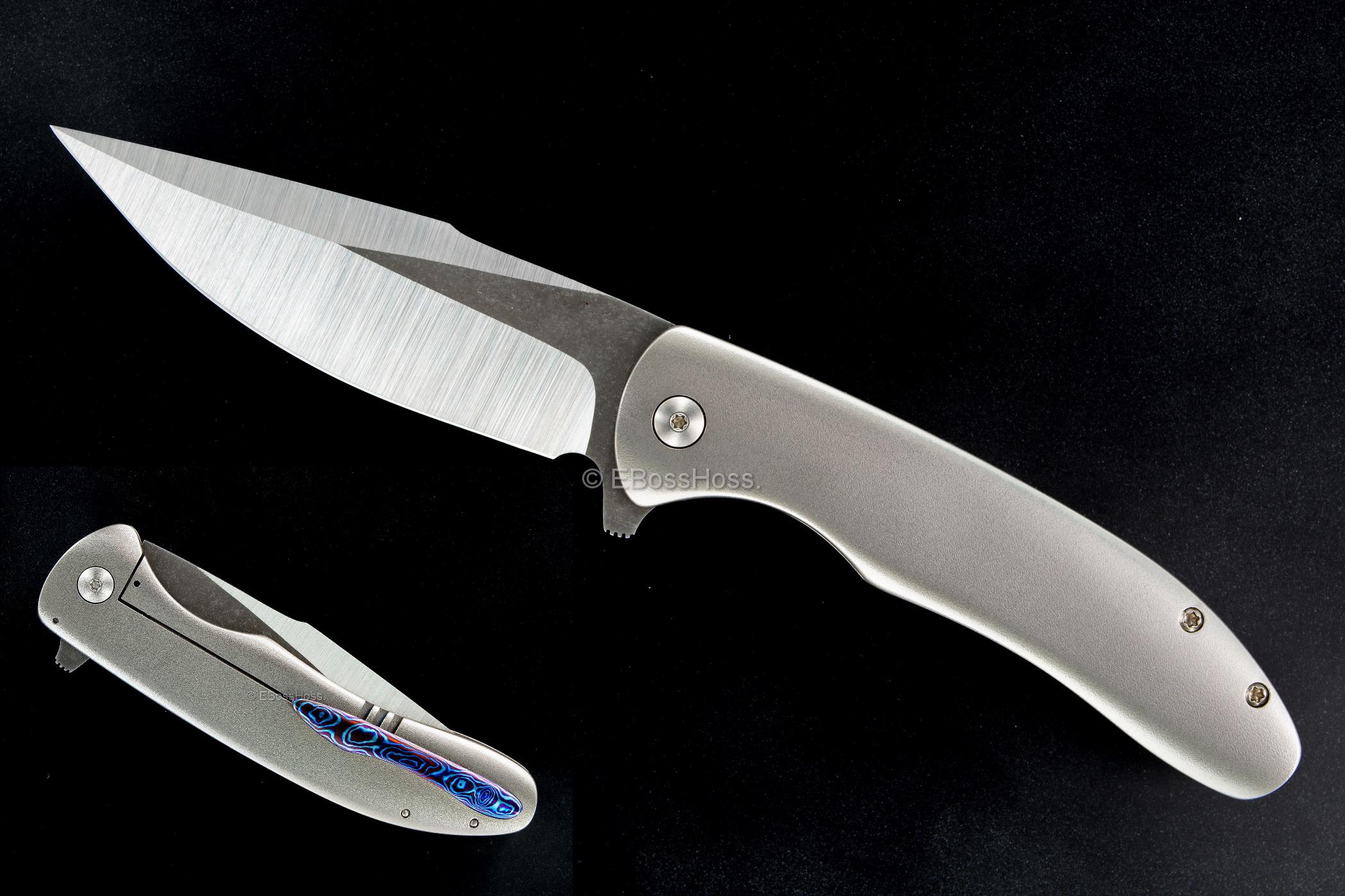 JIKnives Custom Jolt Framelock Flipper - by Jonas Iglesias