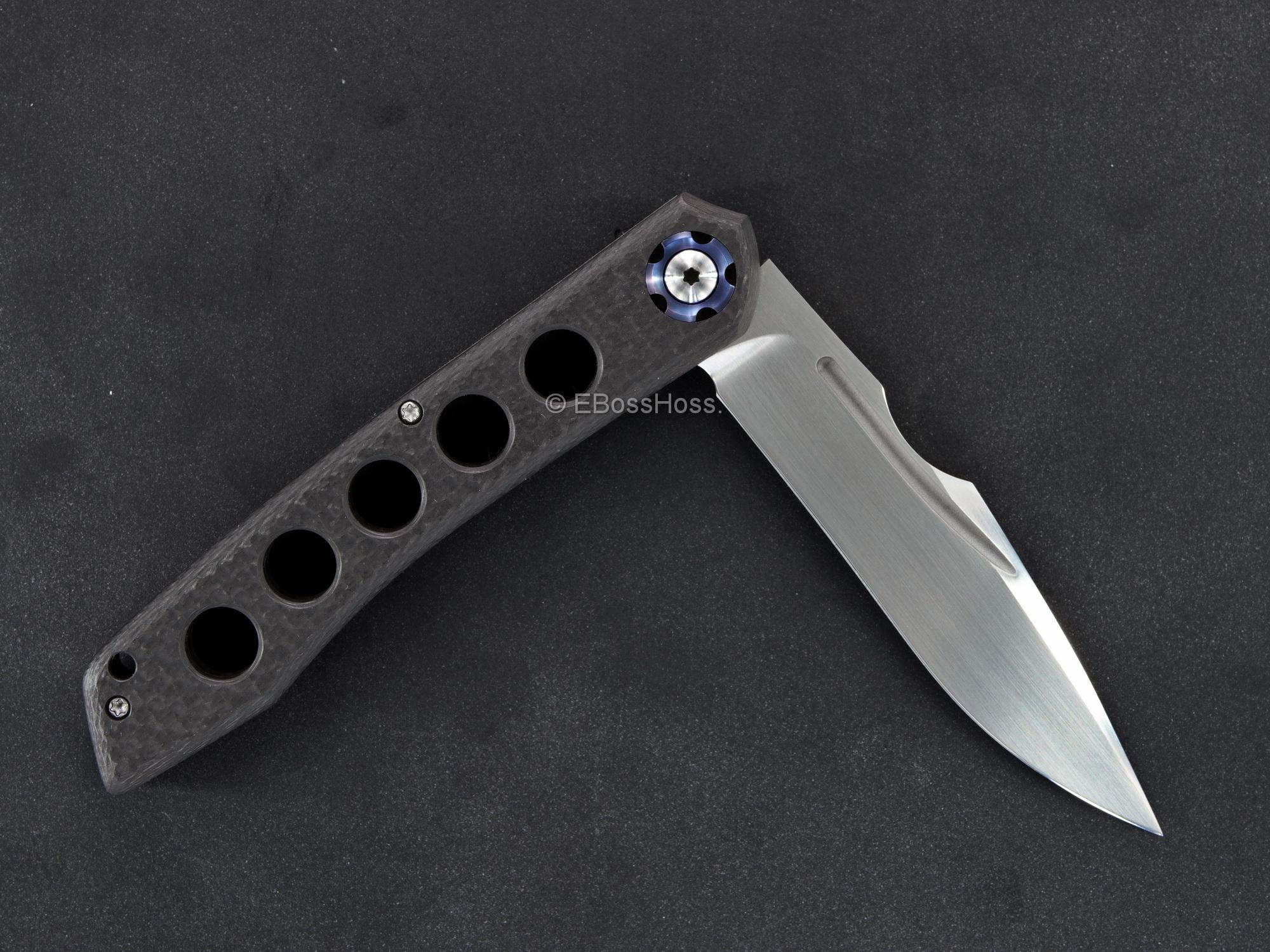 Gerry McGinnis - Michael Burch Custom Collaboration Slipjoint Knife