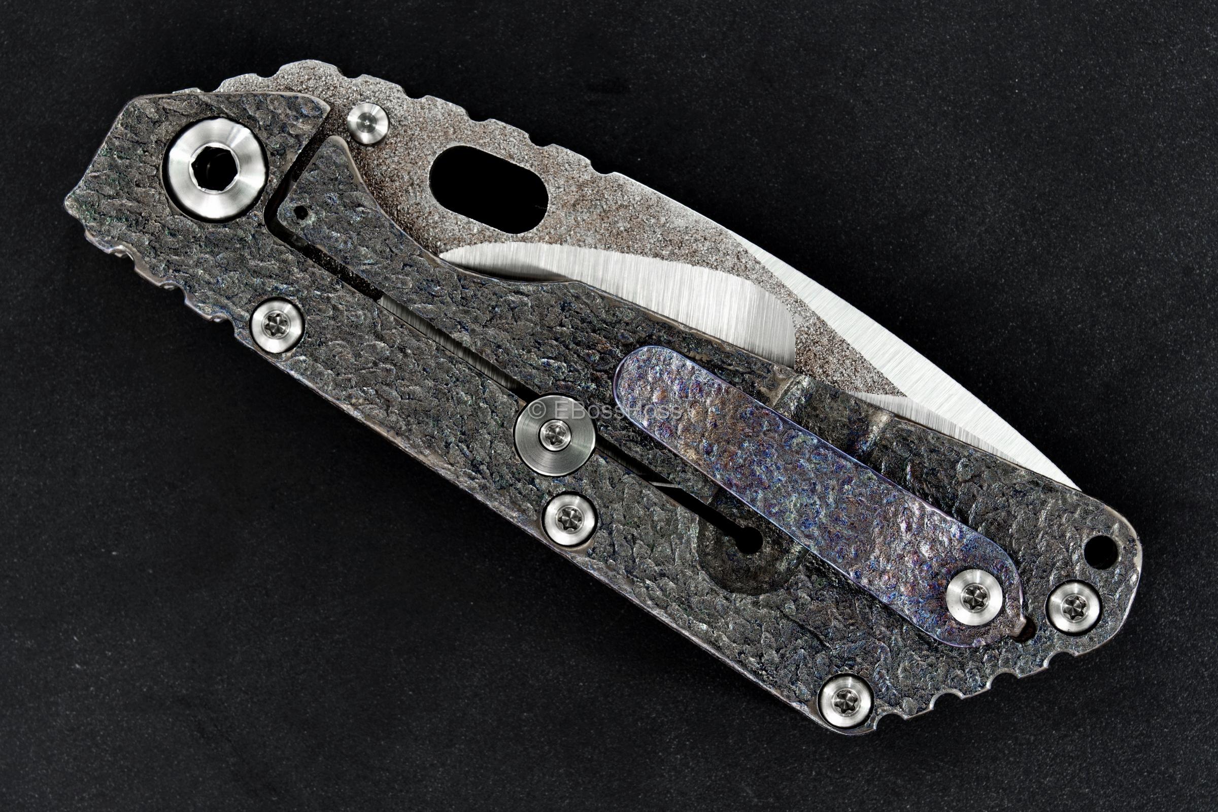 Mick Strider Custom (MSC) Nightmare Tanto SMF