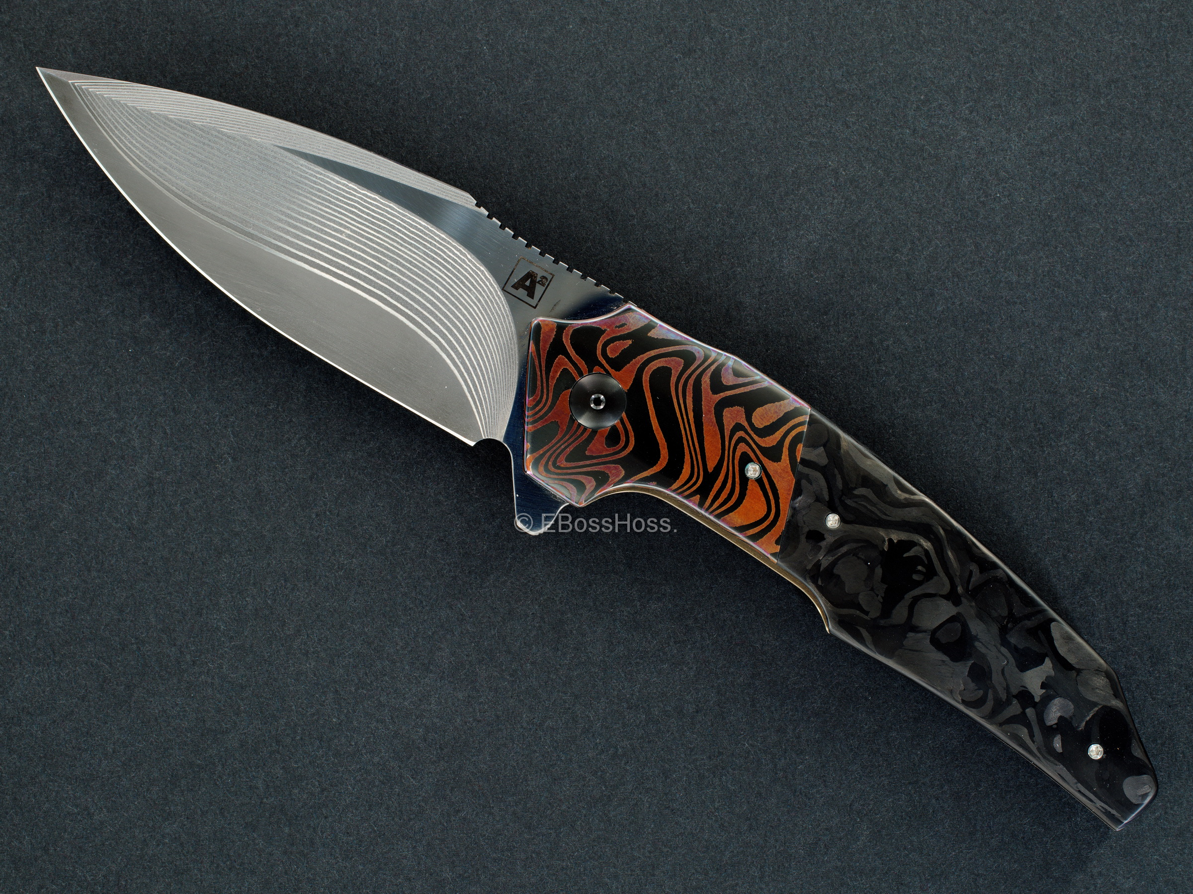 A2 Knives Custom A6 Premium Flipper