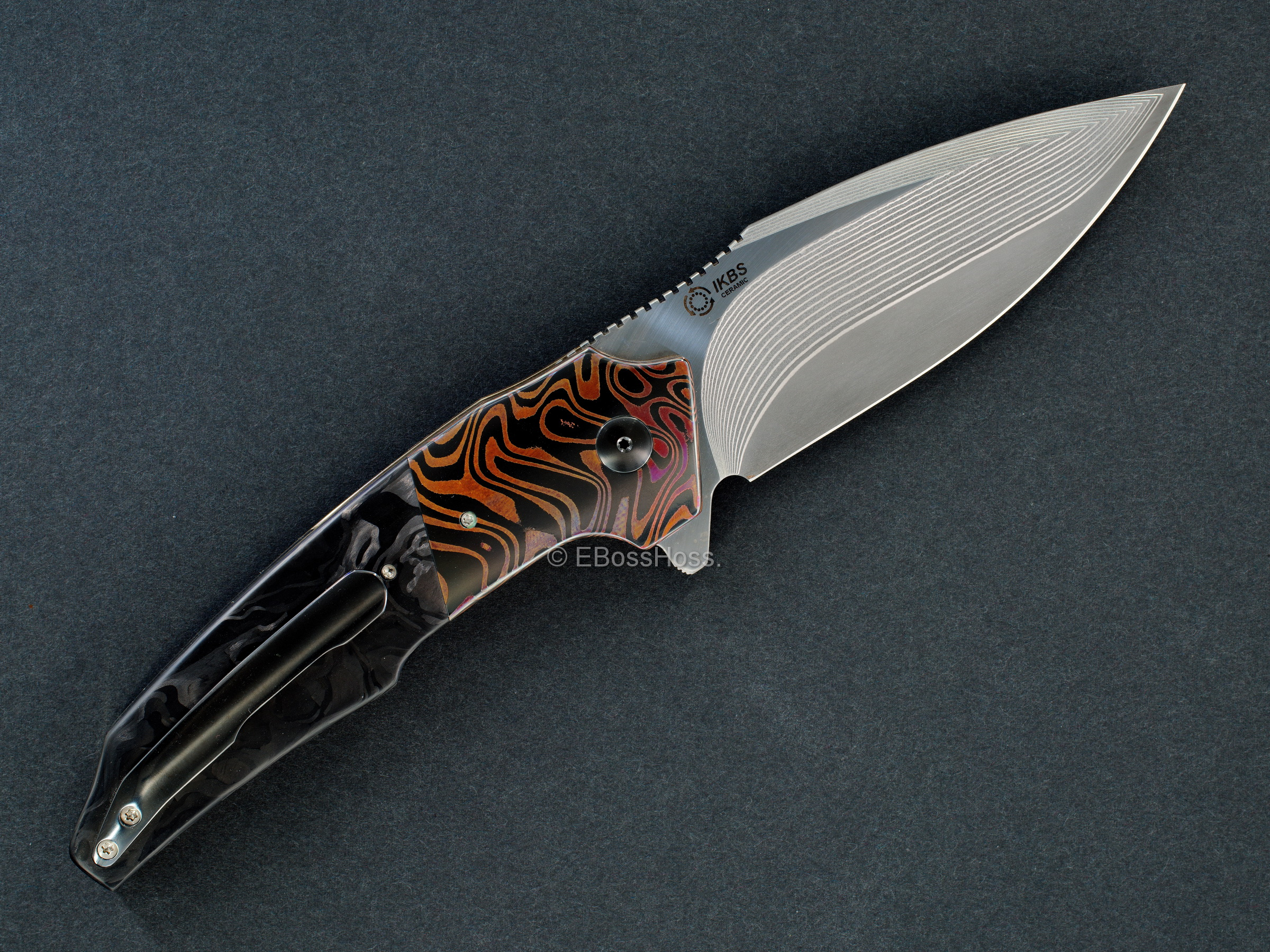 A2 Knives Custom A6 Premium Flipper
