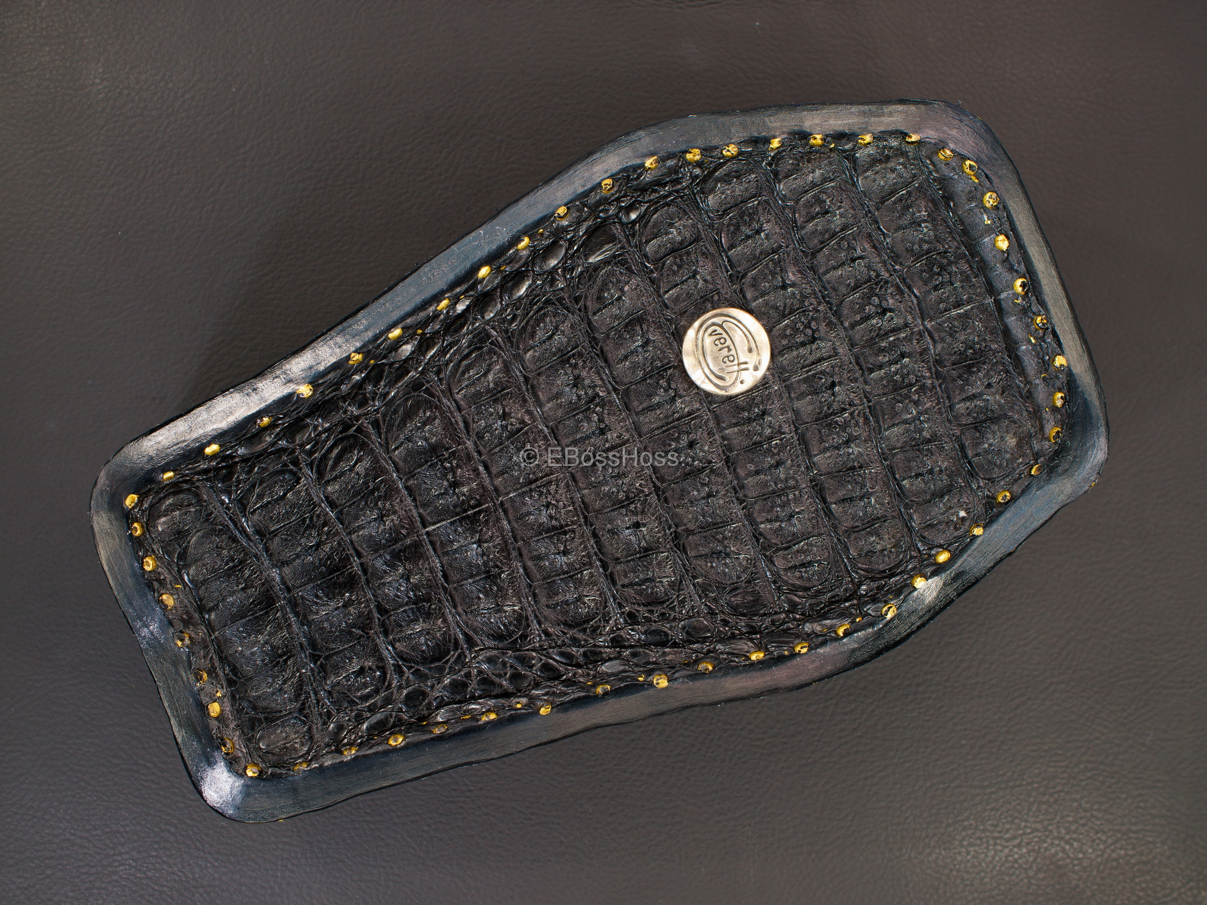 Starlingear Hand-made Alligator Coffin Box by Greg Everett