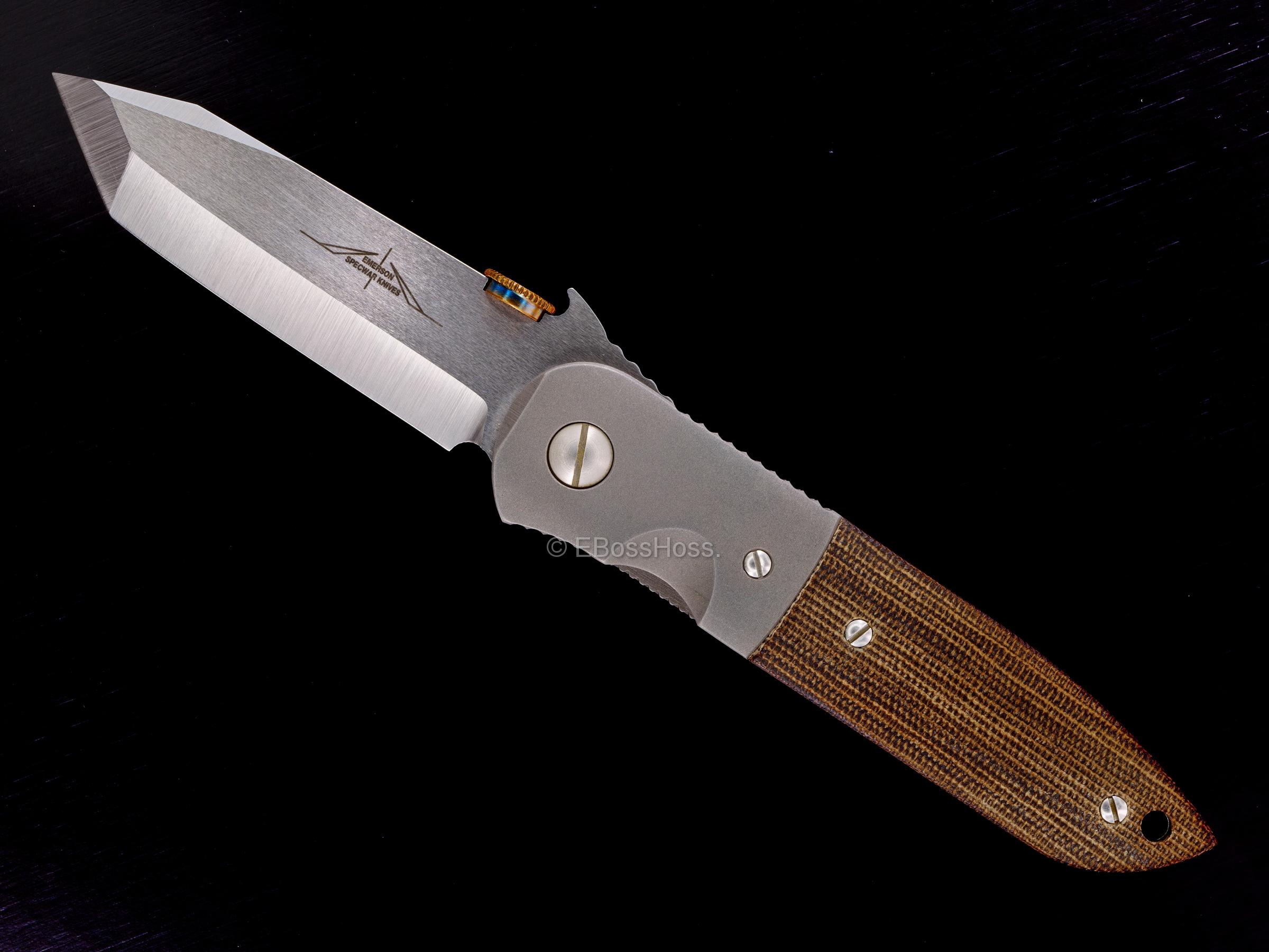 Ernie Emerson Custom Waved CQC-6