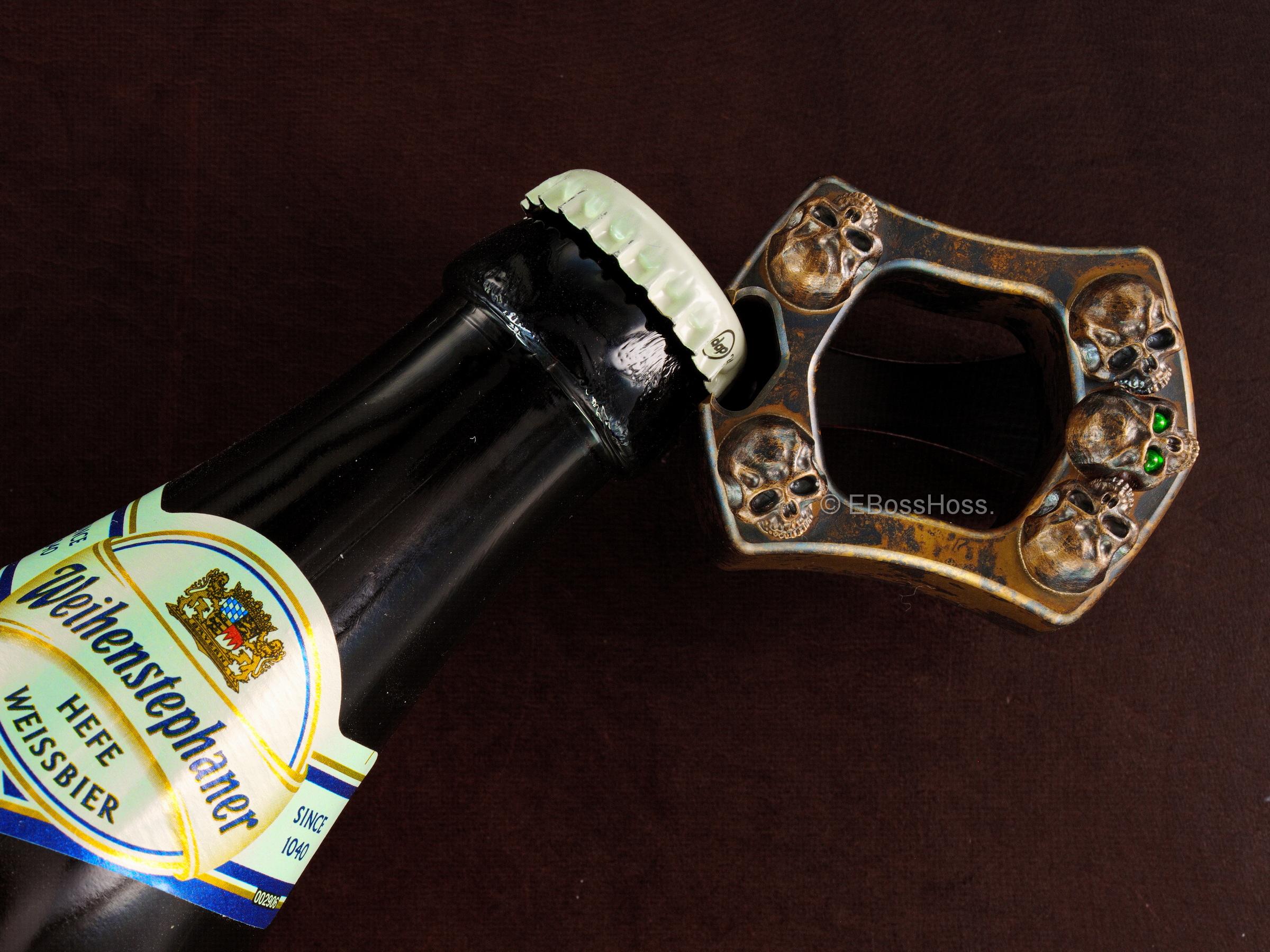 Derrick Obatake Custom ONE Warriors Sledge Ring - Bottle Opener
