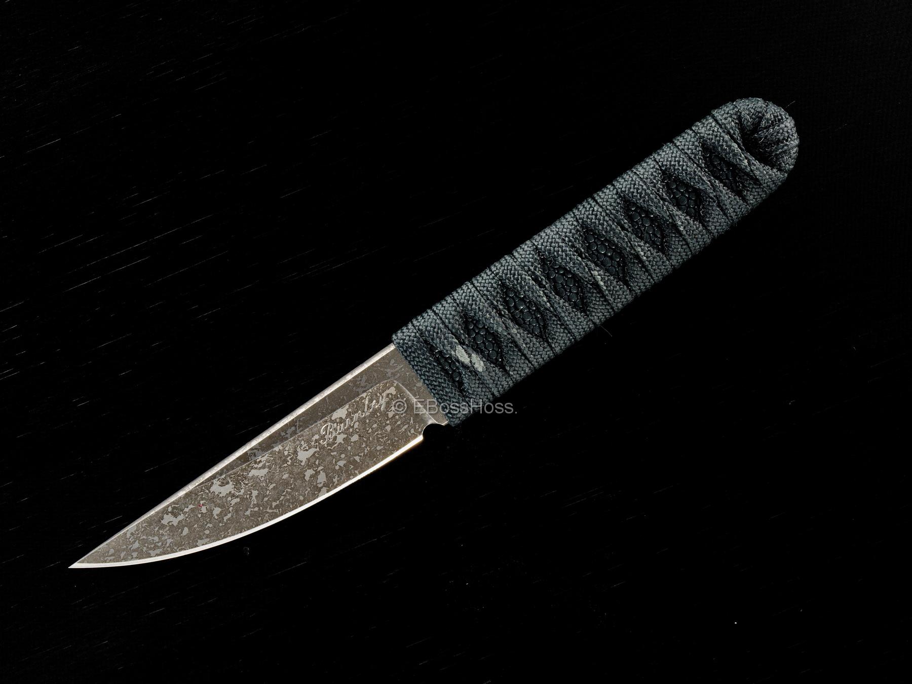 Lucas Burnley Custom Small Fixed Blade