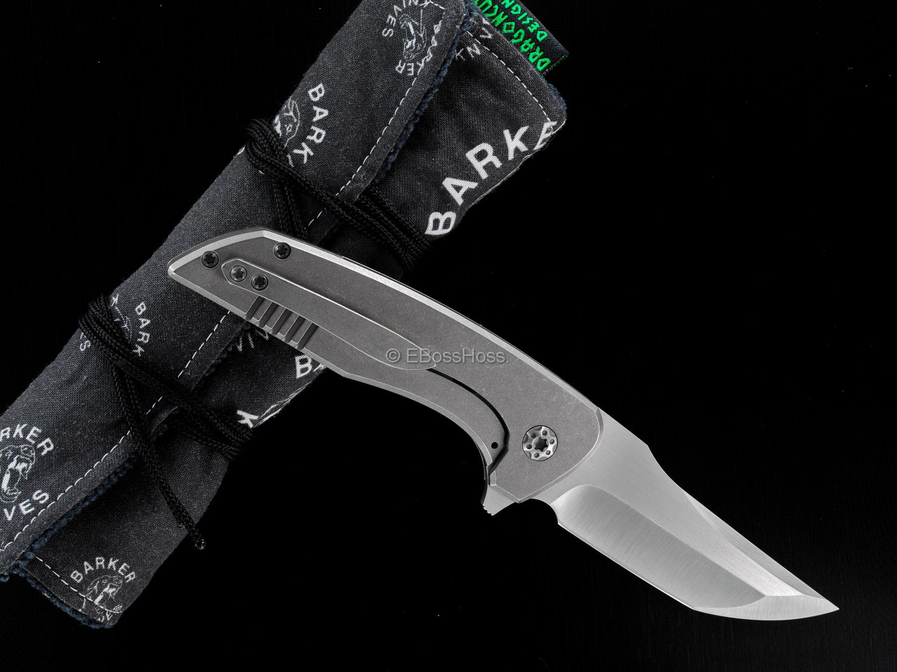 Barker Knives Mid-Tech Mini Hokkaido Flipper