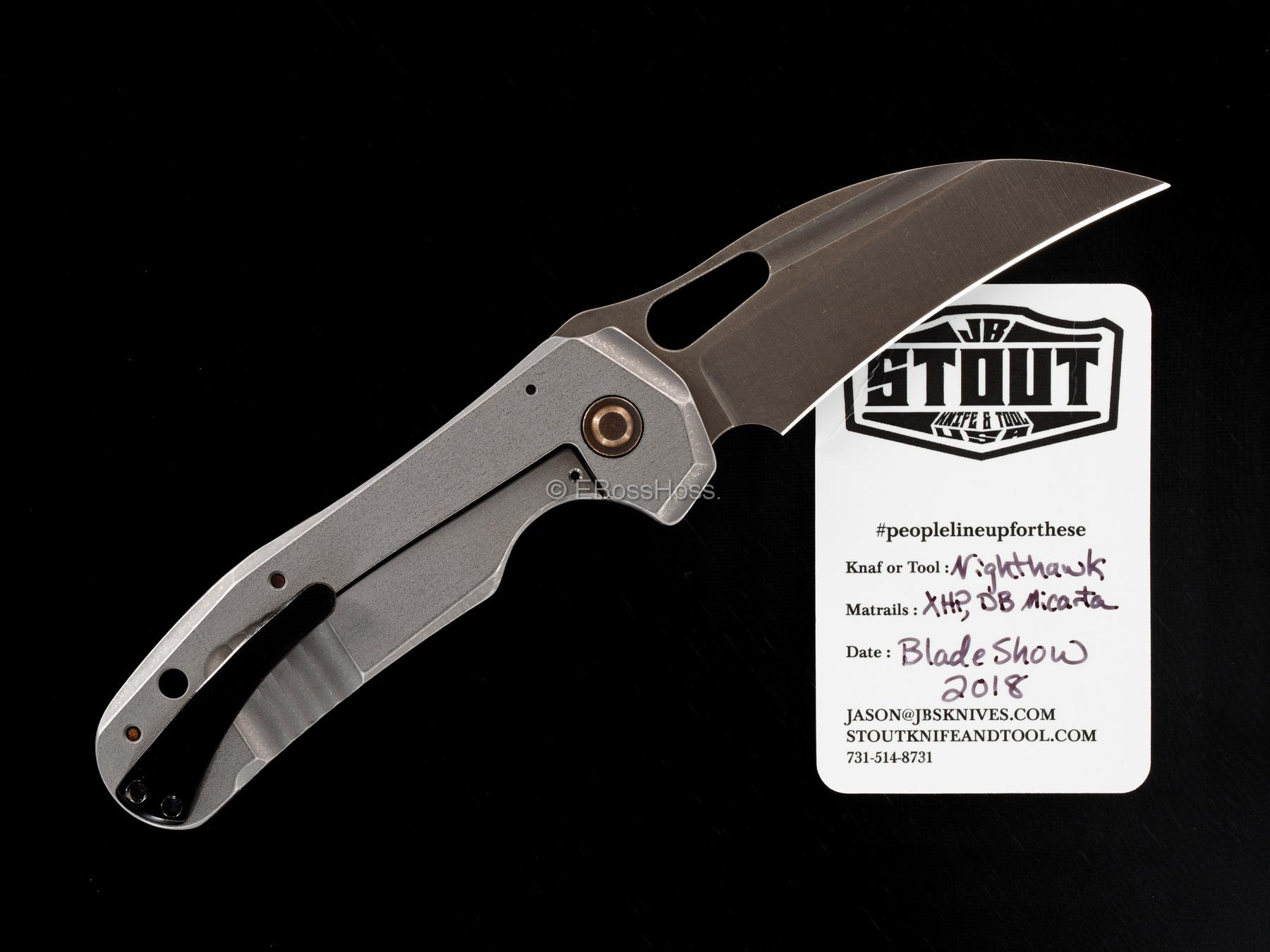 JB Stout Custom Nighthawk Framelock Folder