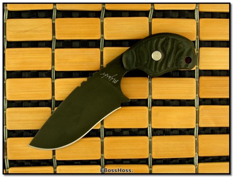 MSC Strider Custom Hand-Ground Black-Bladed SLCC