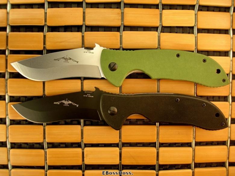 Emerson Pair (Black & Green) TADGear Super Commanders #033
