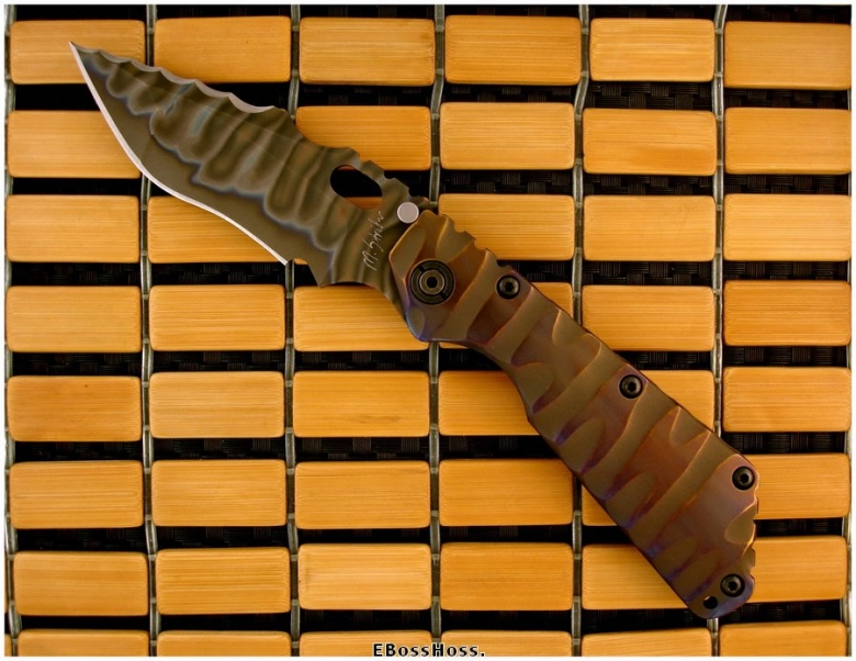 Mick Strider Custom (MSC) All-TI XL SnG Dragon Spine