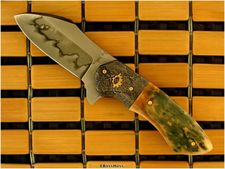 Michael Burch  One of a kind & exceptionally engraved by Jody Muller