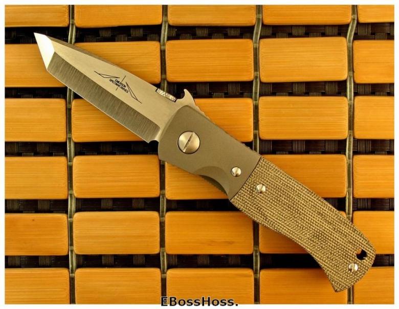 Ernie Emerson Mini-CQC-7/W w/Bolsters