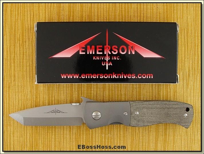 Ernie Emerson CQC-7 w/Wave (173)