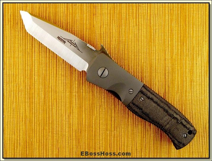 Ernie Emerson CQC-7 Waved Prototype